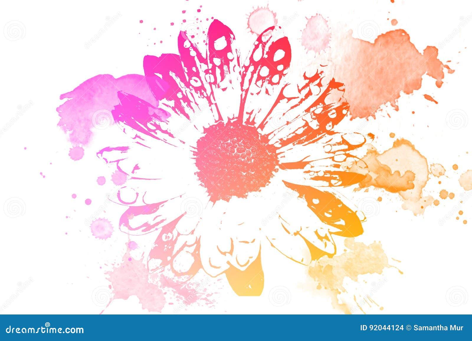 De bloem van de lente
