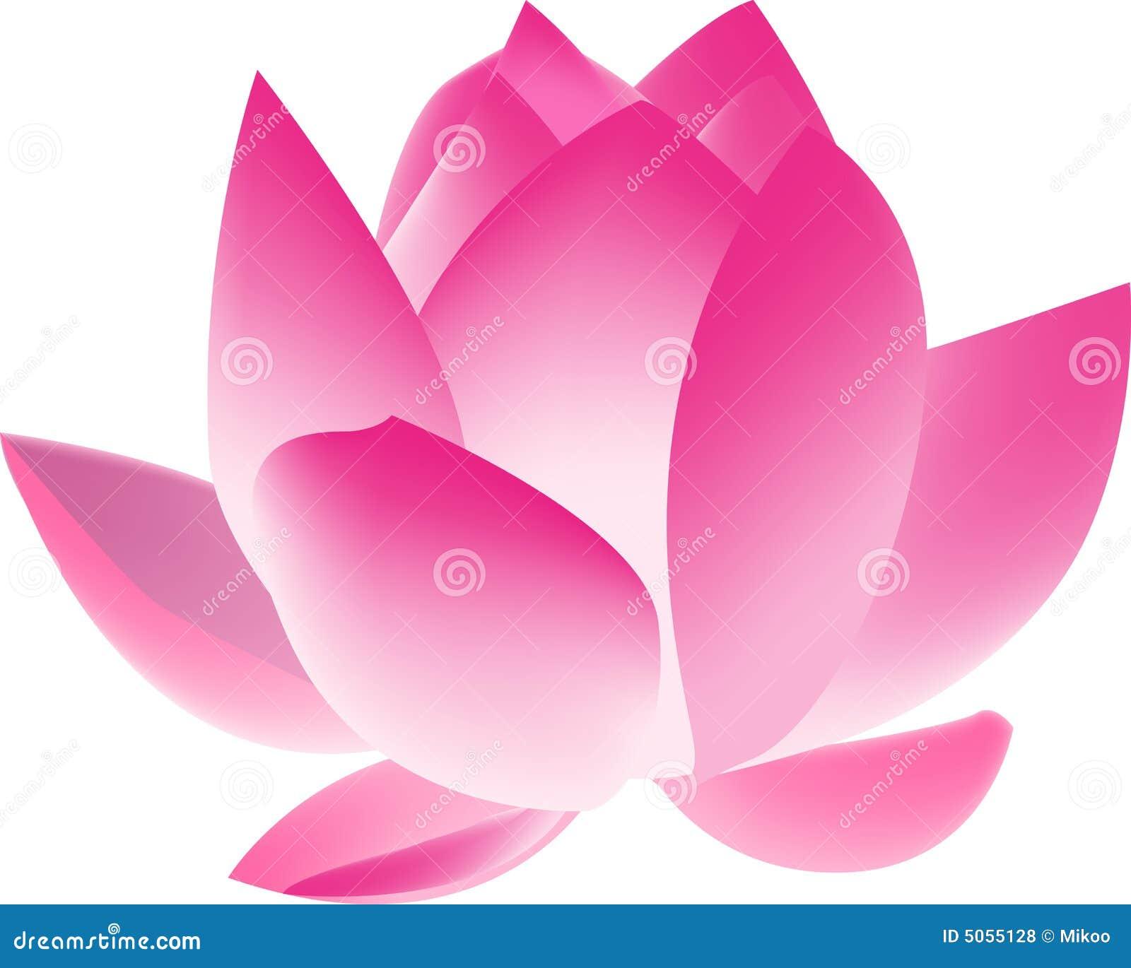 De bloem van lotus vector illustratie illustratie bestaande uit chinees 5055128 - Fleur de lotus symbole ...