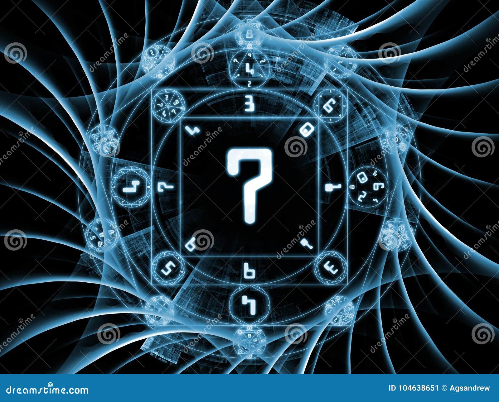 Download De Bloem Van Symbolische Betekenis Stock Illustratie - Illustratie bestaande uit achtergrond, numerology: 104638651