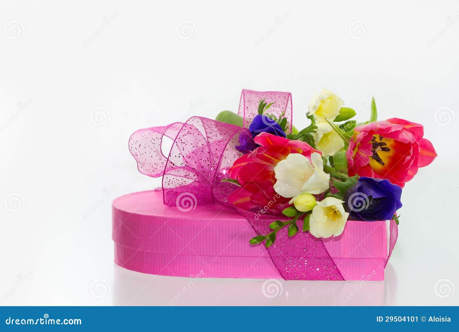 De bloemen en de gift van de lente