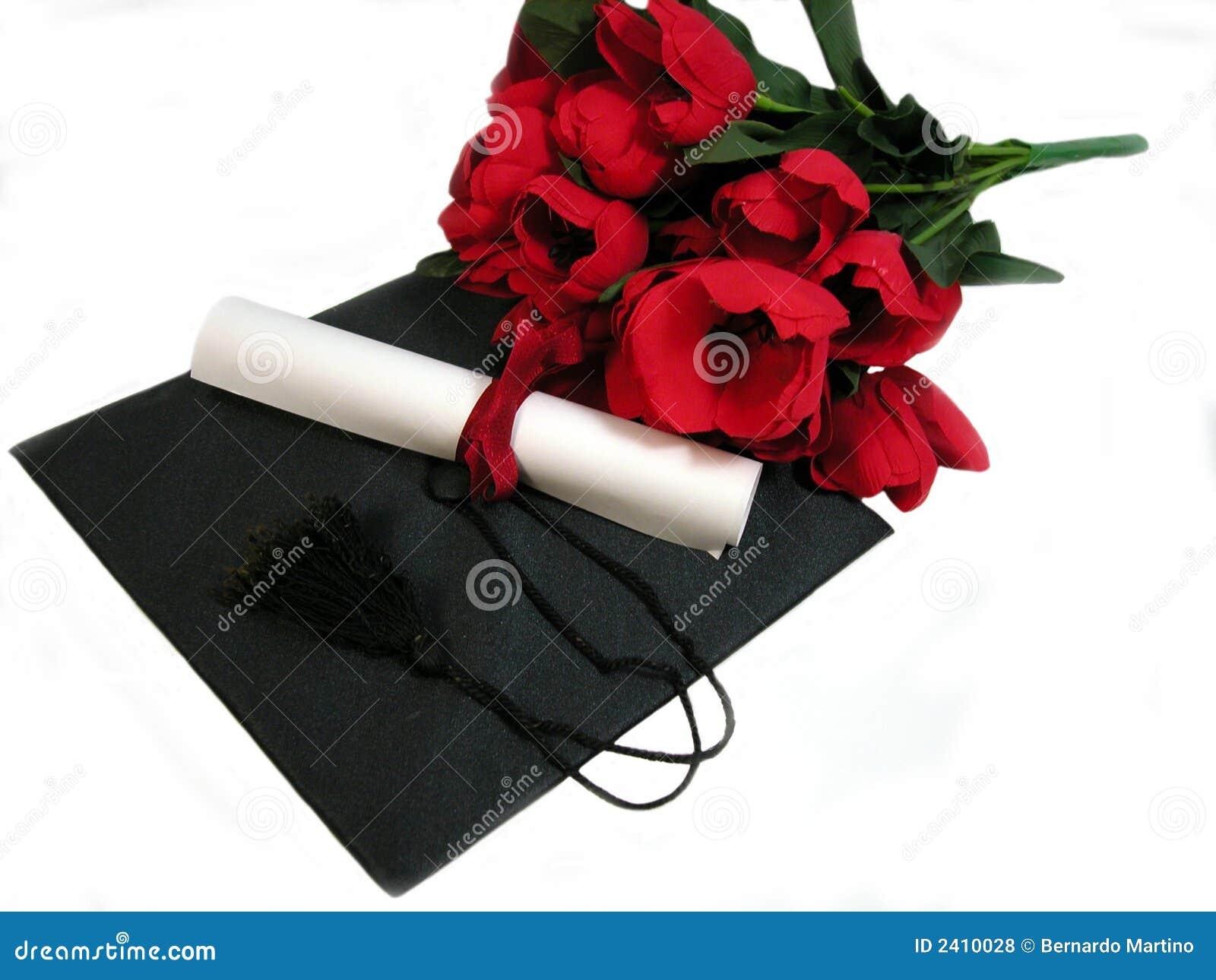 De bloemen van de graduatie