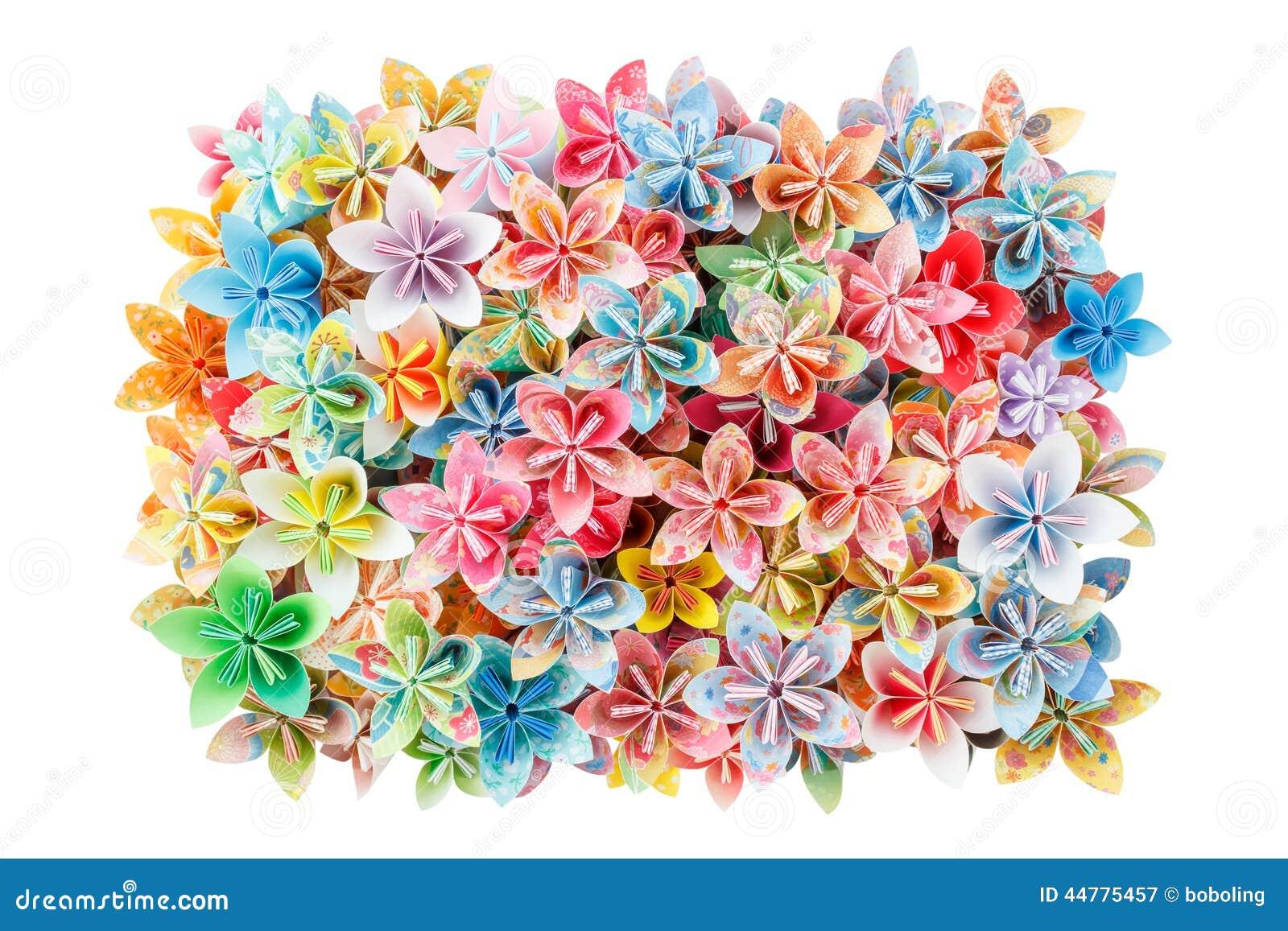 De bloemen van het document