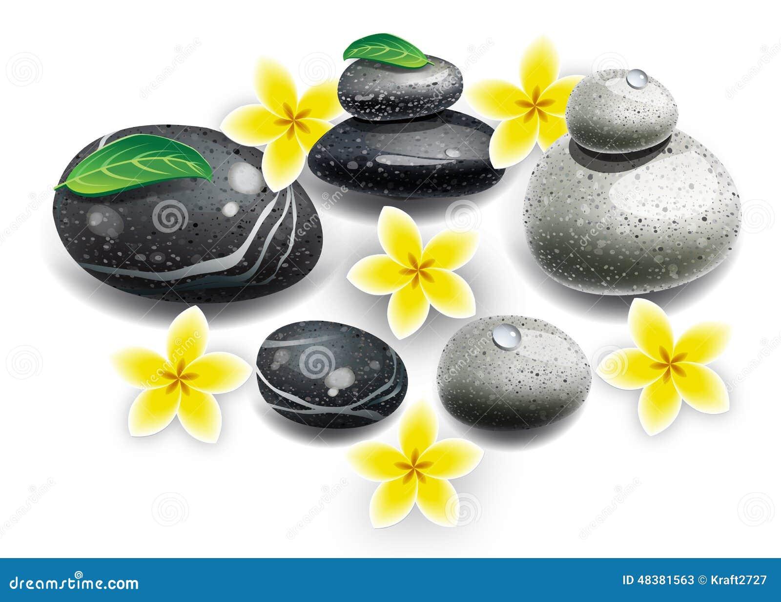 De bloemen van kuuroordstenen