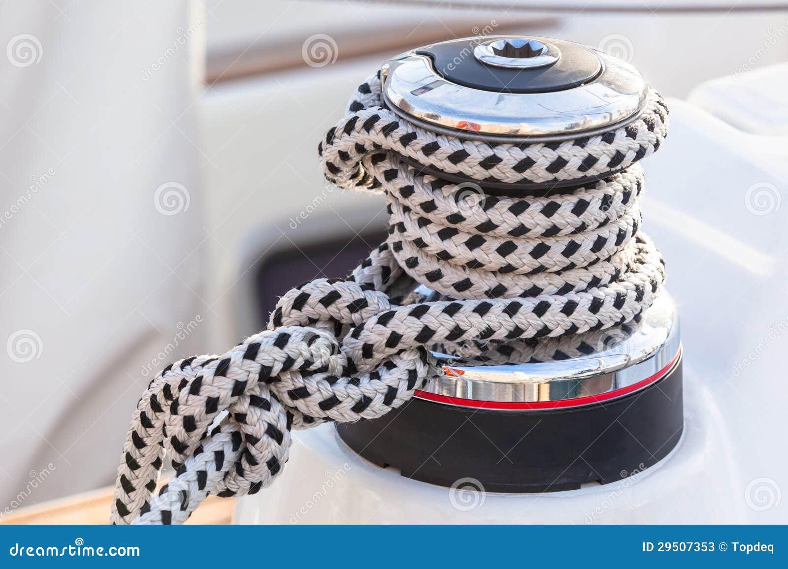 De Bocht van de Kabel van de zeilboot