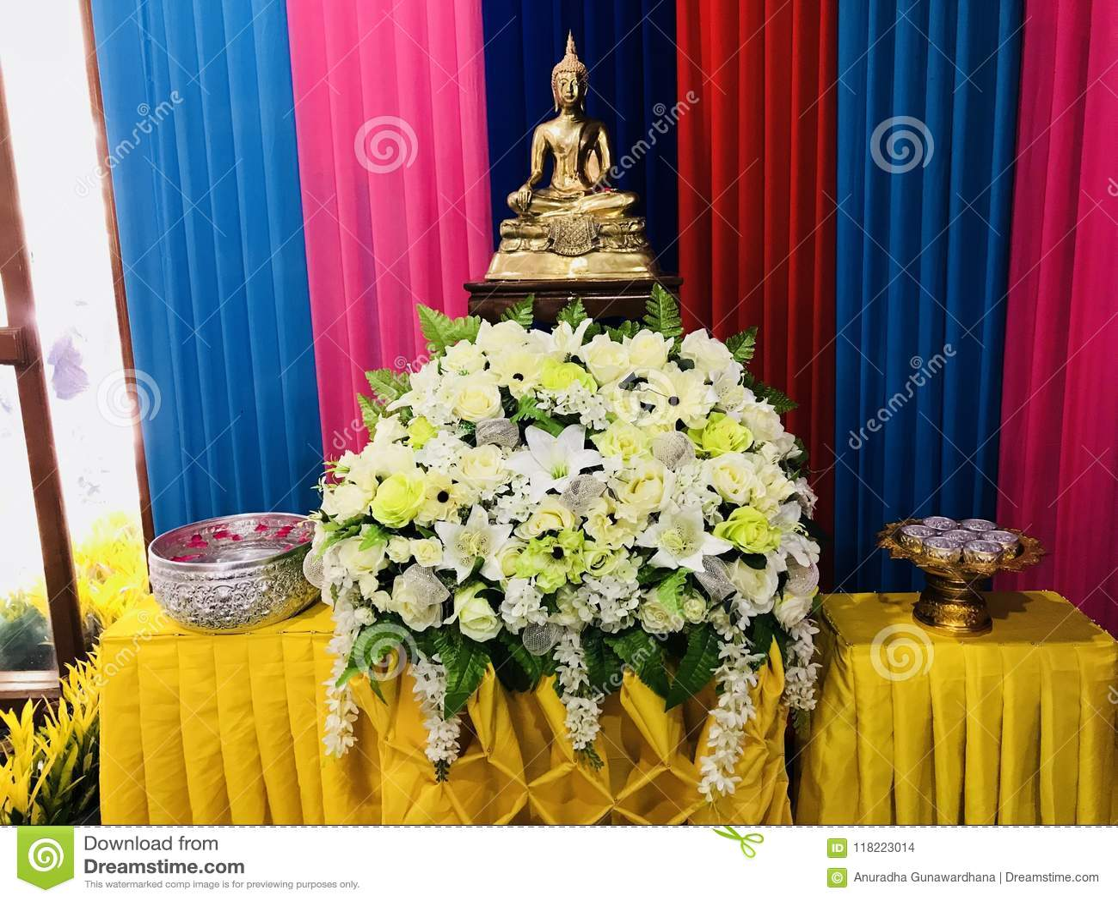 De Boeddhistische grote leider van ladingsboedha