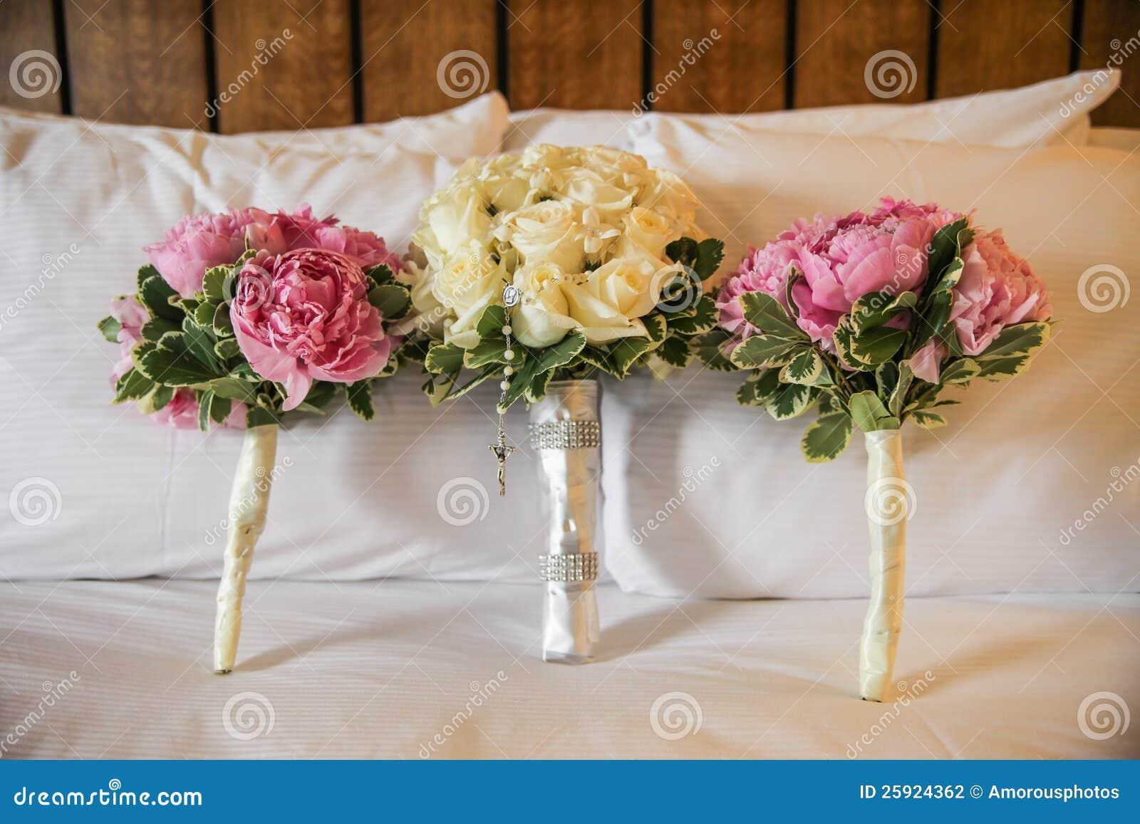 De boeketten van het huwelijk