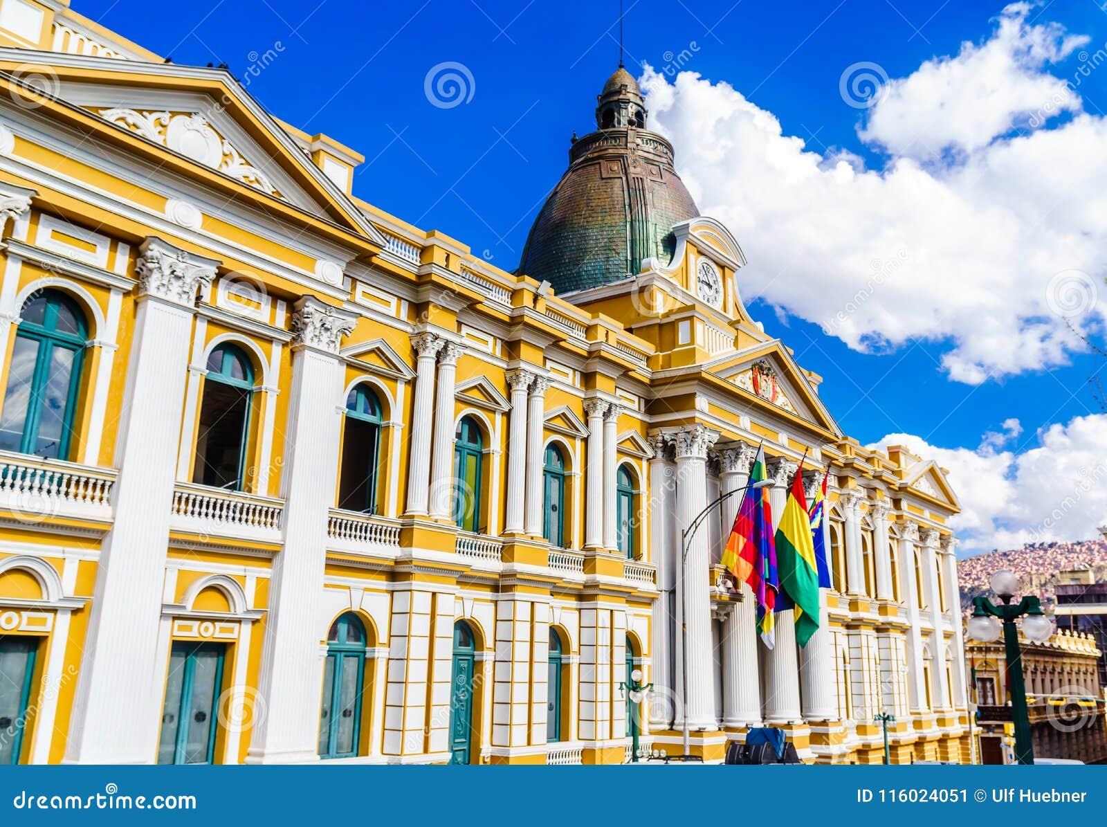 De Boliviaanse Overheidsbouw, La Paz - Bolivië
