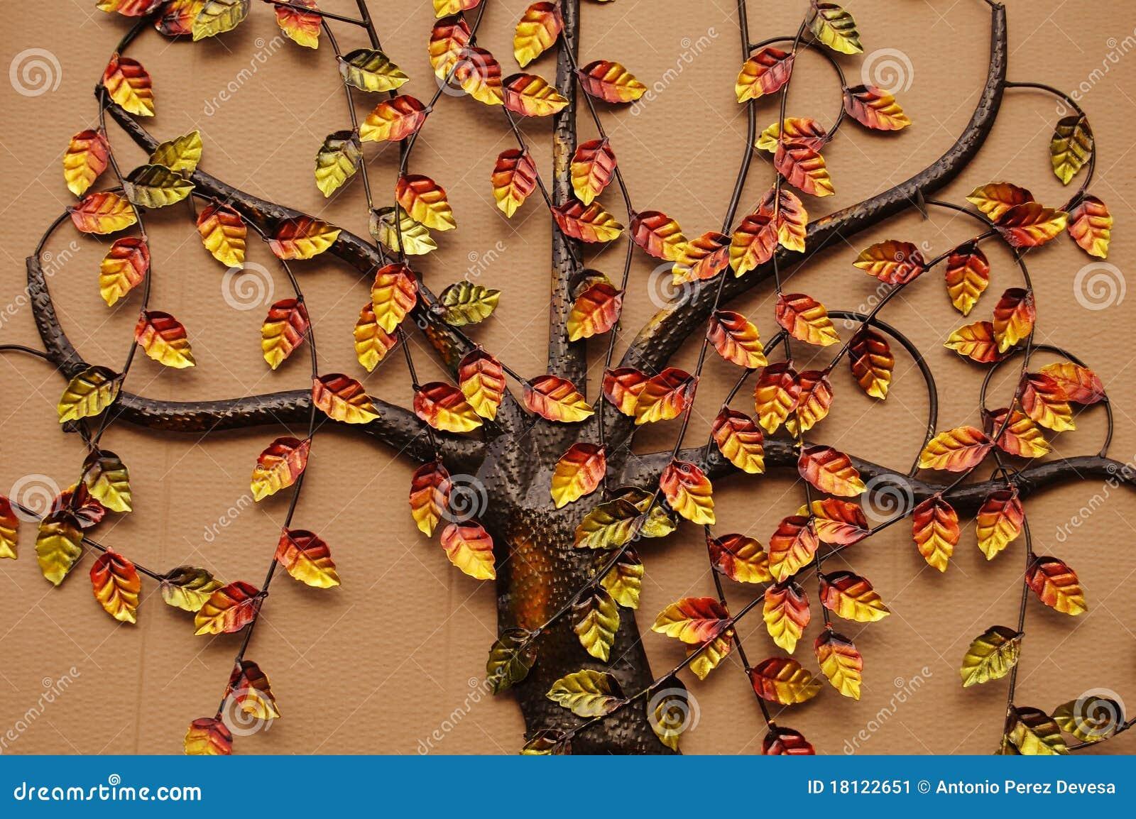 De boom van de decoratie stock afbeelding afbeelding 18122651 - Afbeelding van decoratie ...