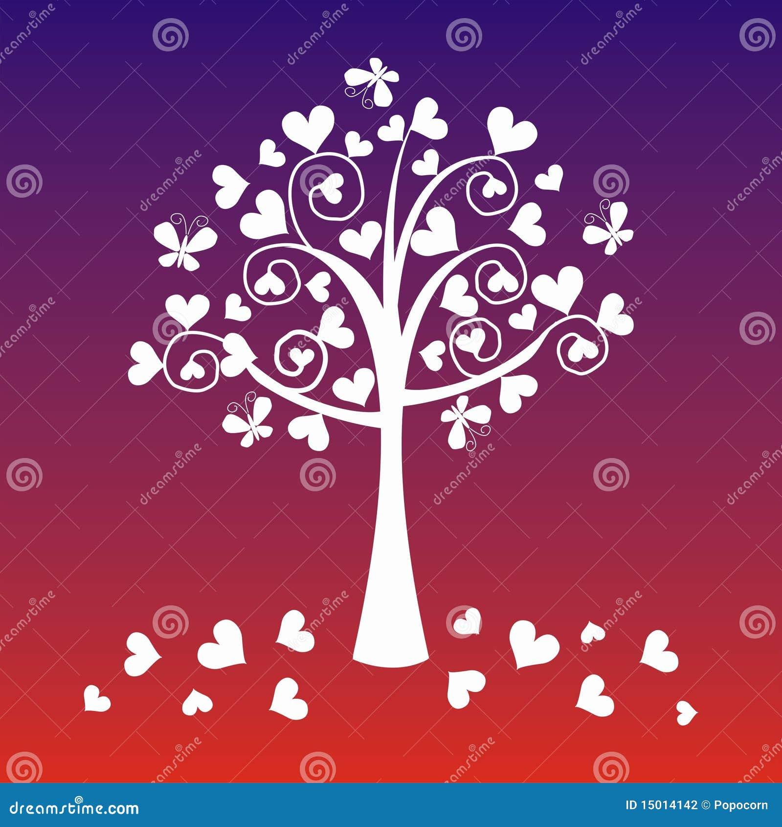 De boom van de fantasie