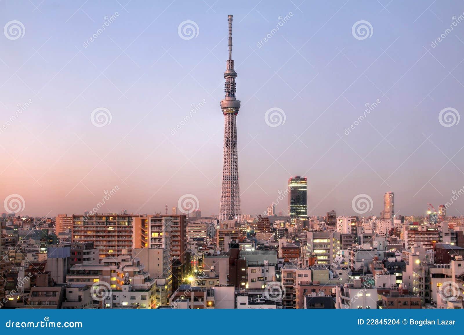 De Boom van de Hemel van Tokyo, Japan