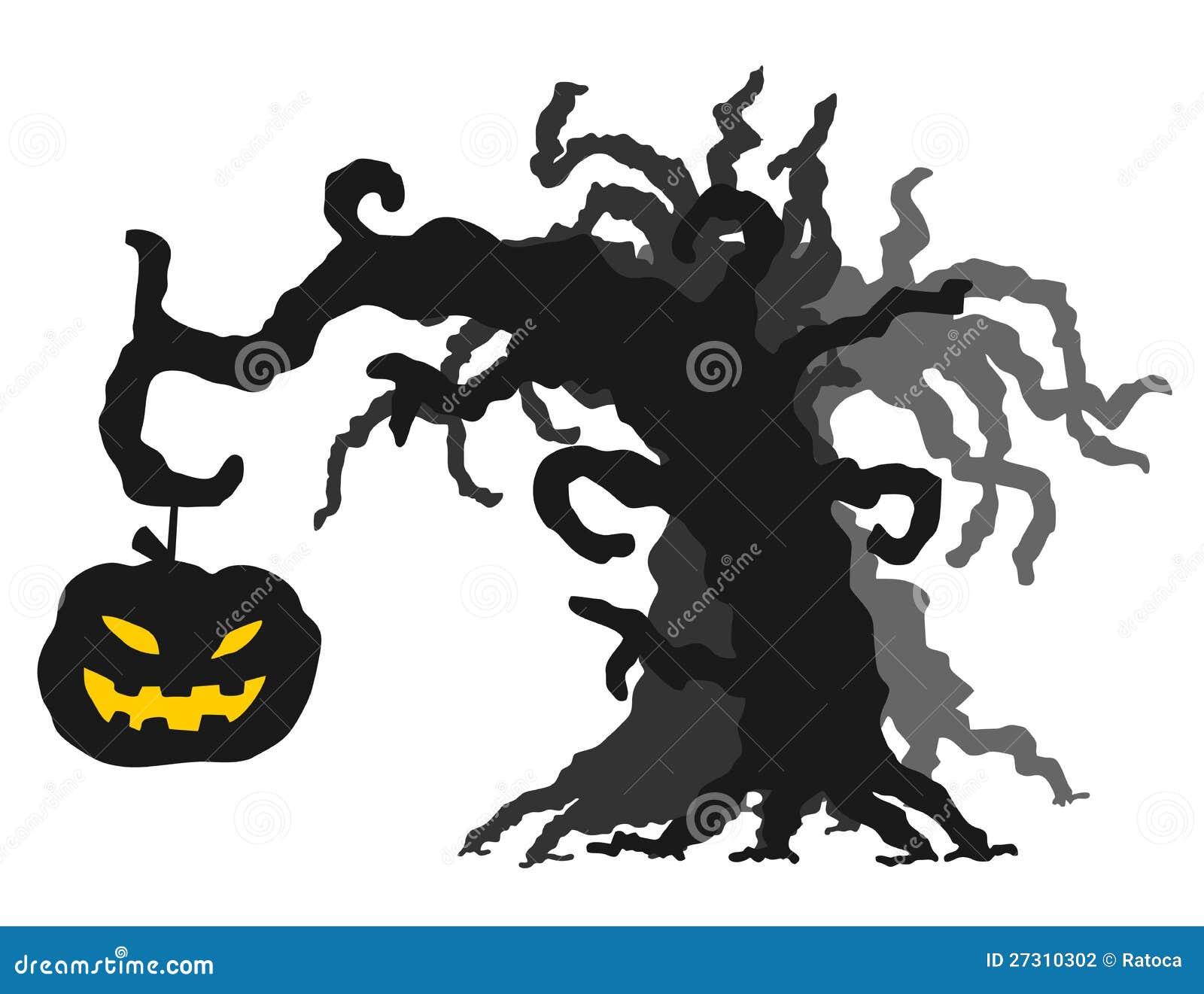 De boom van halloween stock fotografie afbeelding 27310302 - Boom ontwerp ...