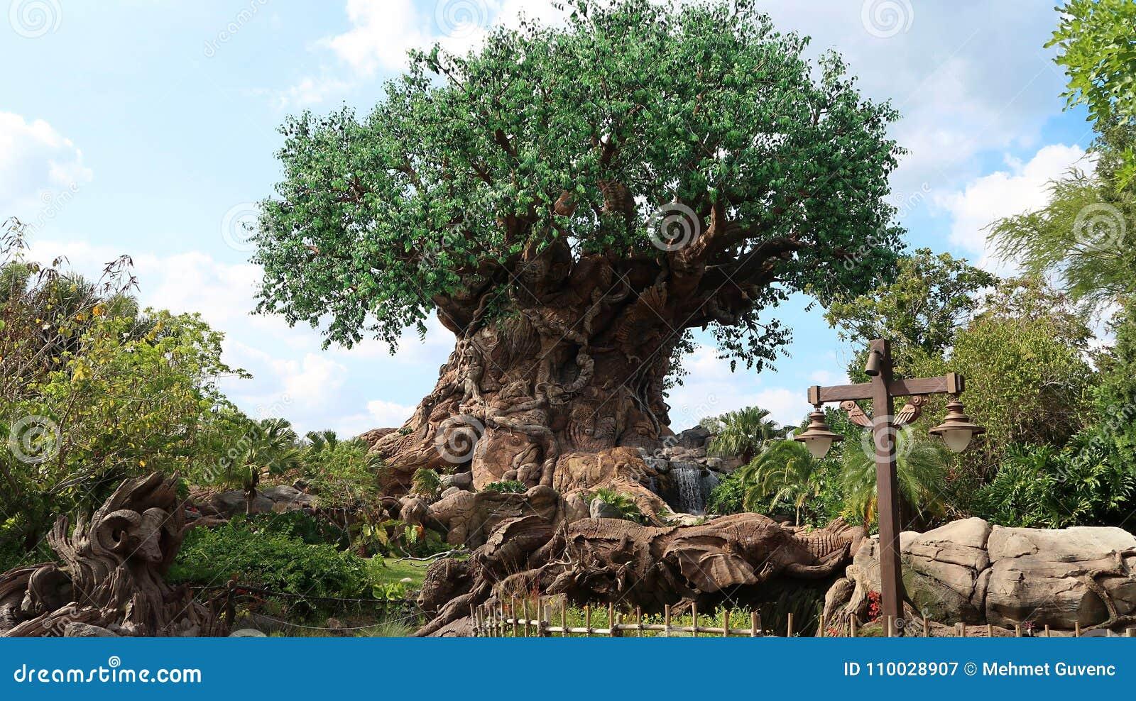 De Boom van het Leven is in de Disney-Wereld in Orlando