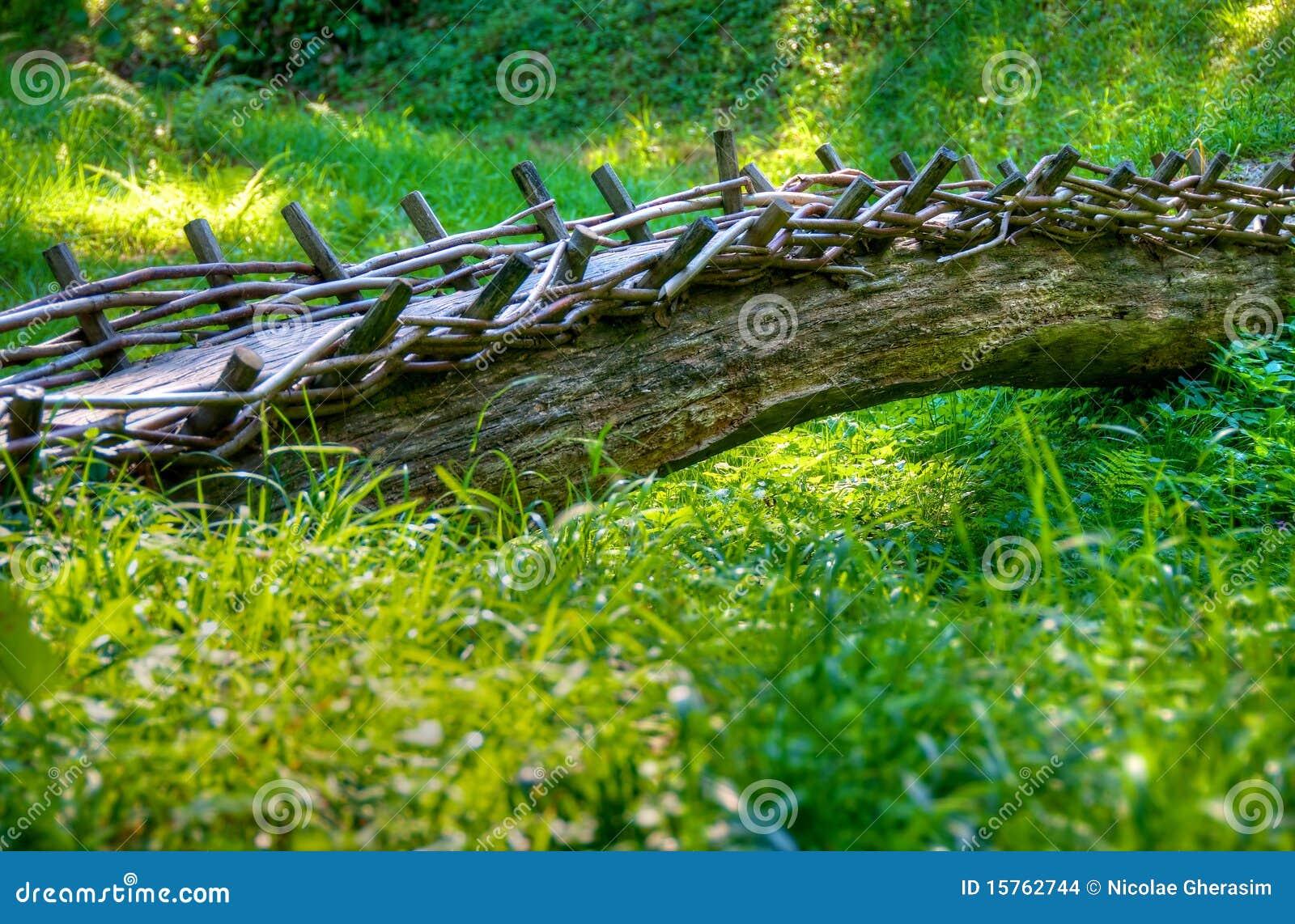 De boomstambrug van de boom stock foto afbeelding 15762744 - Deksel van de boom ...