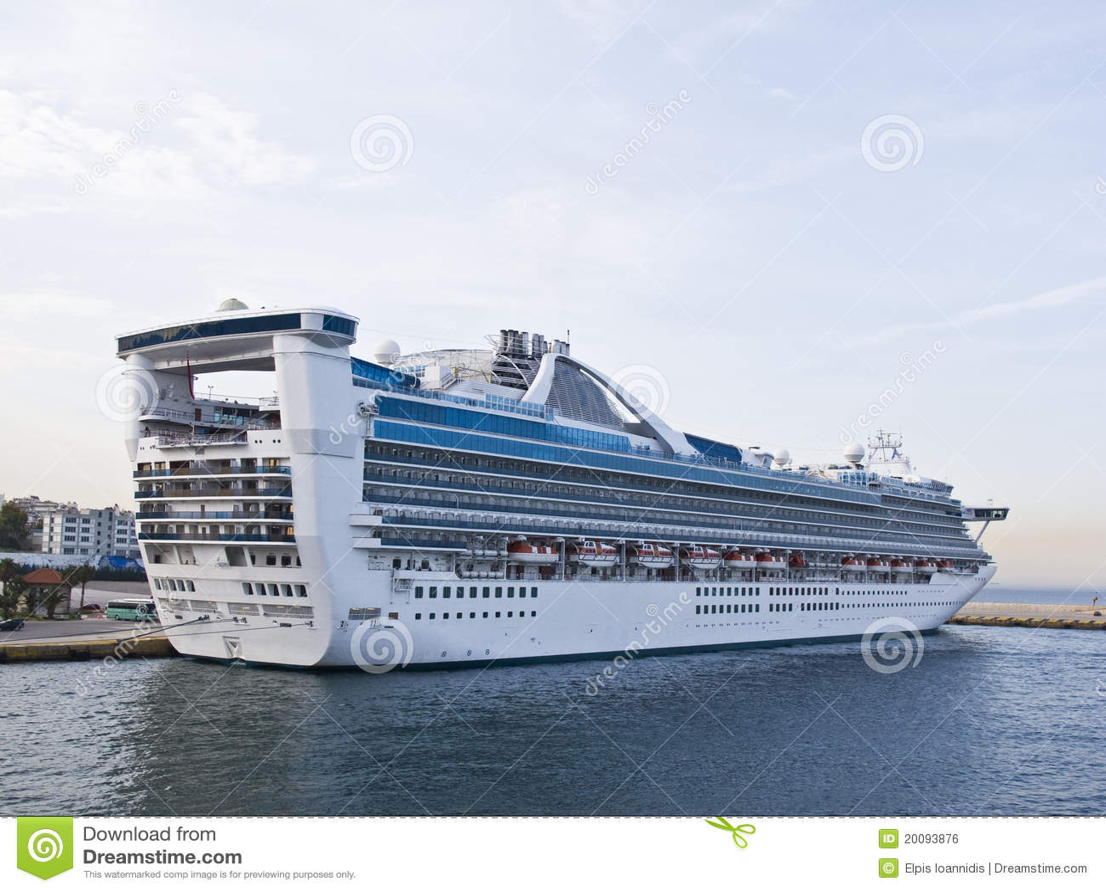 De boot van de kruiser