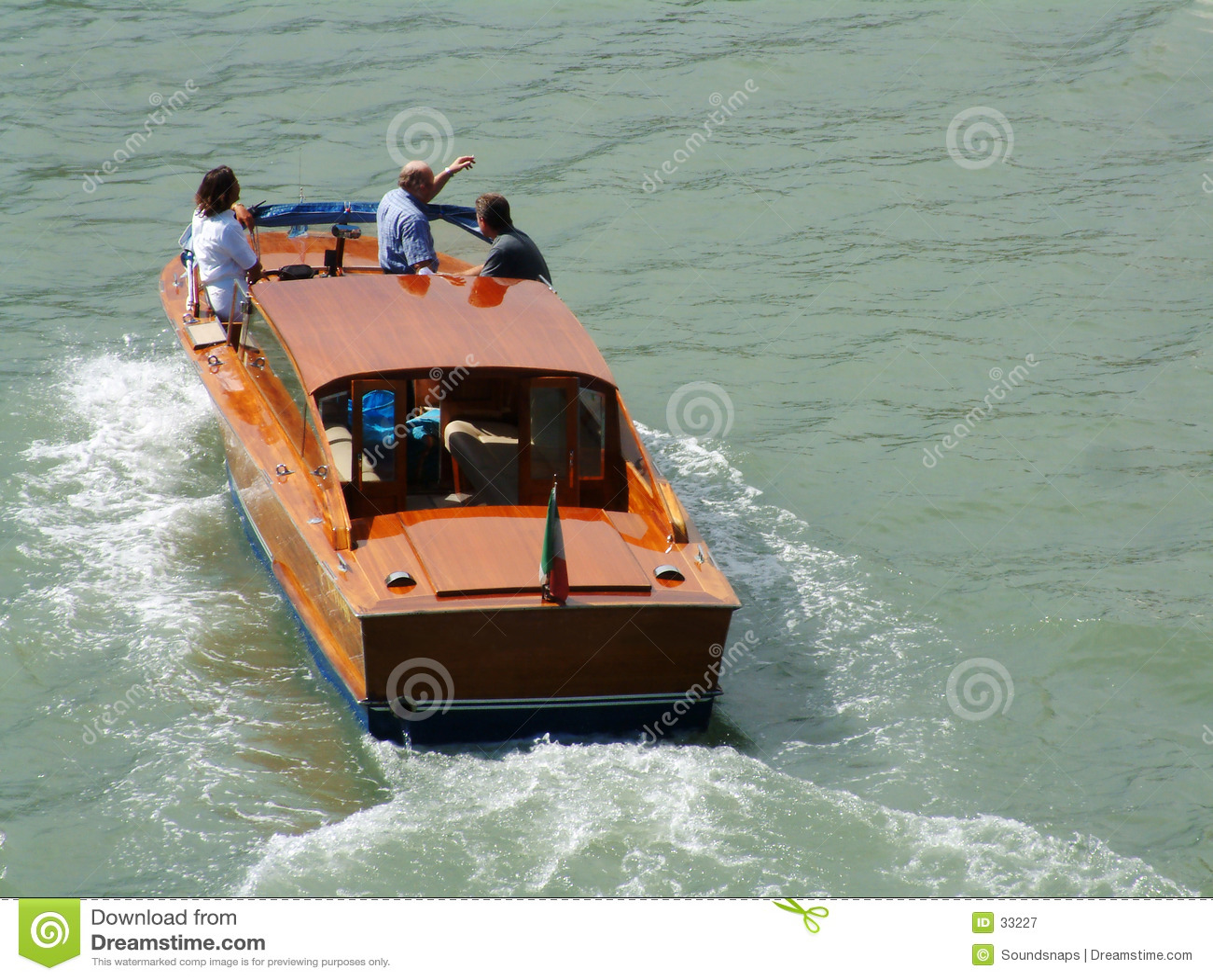 De boot van de Lancering van de taxi
