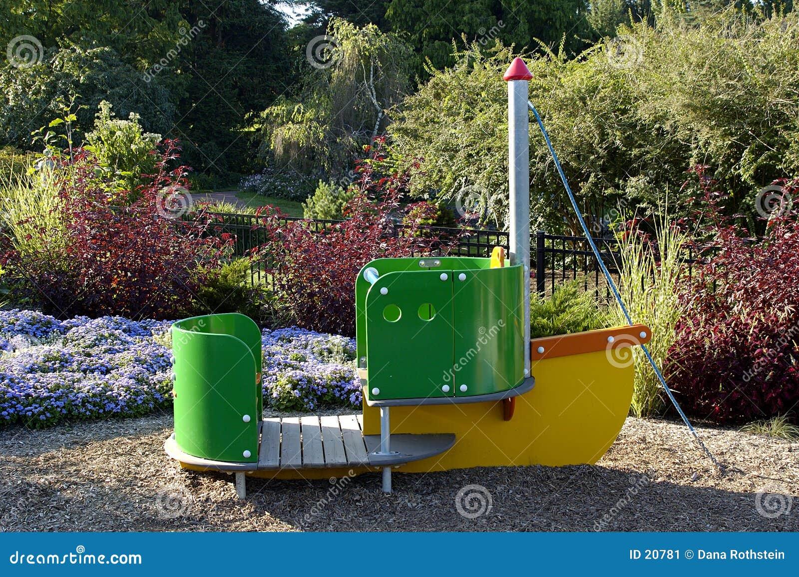 De Boot van het park