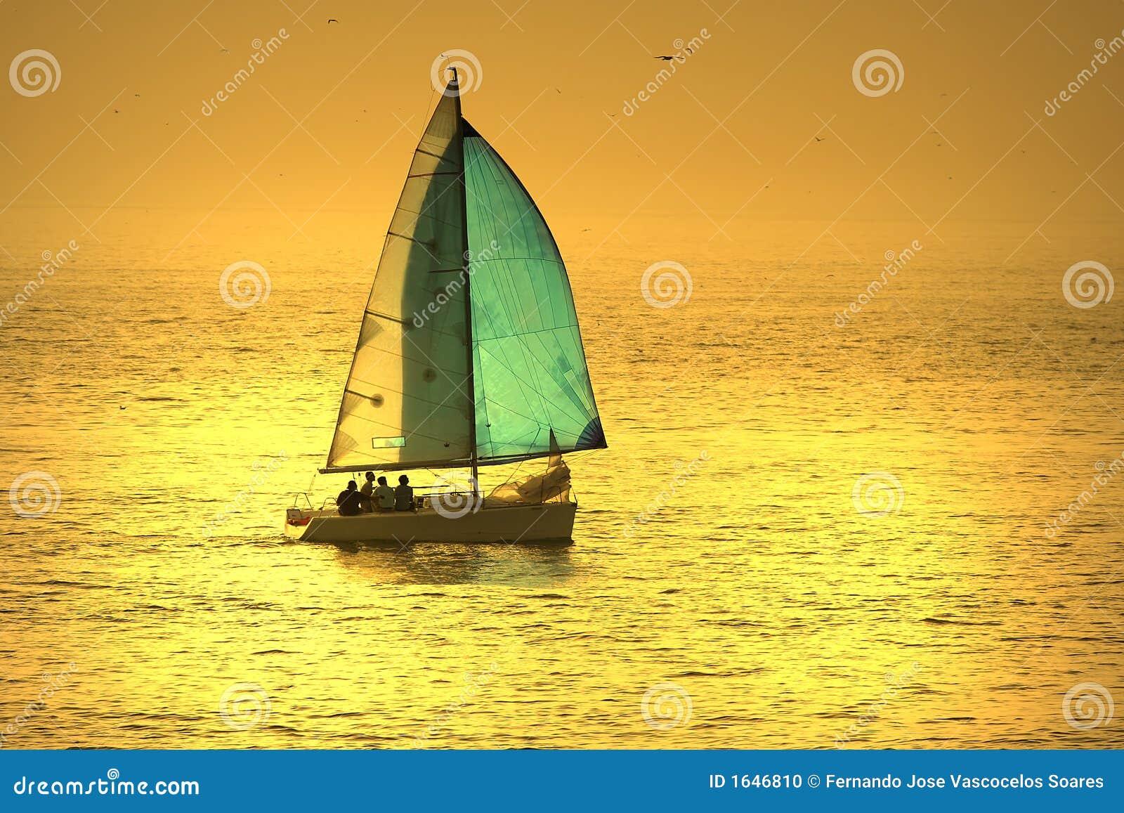 De boot van het zeil