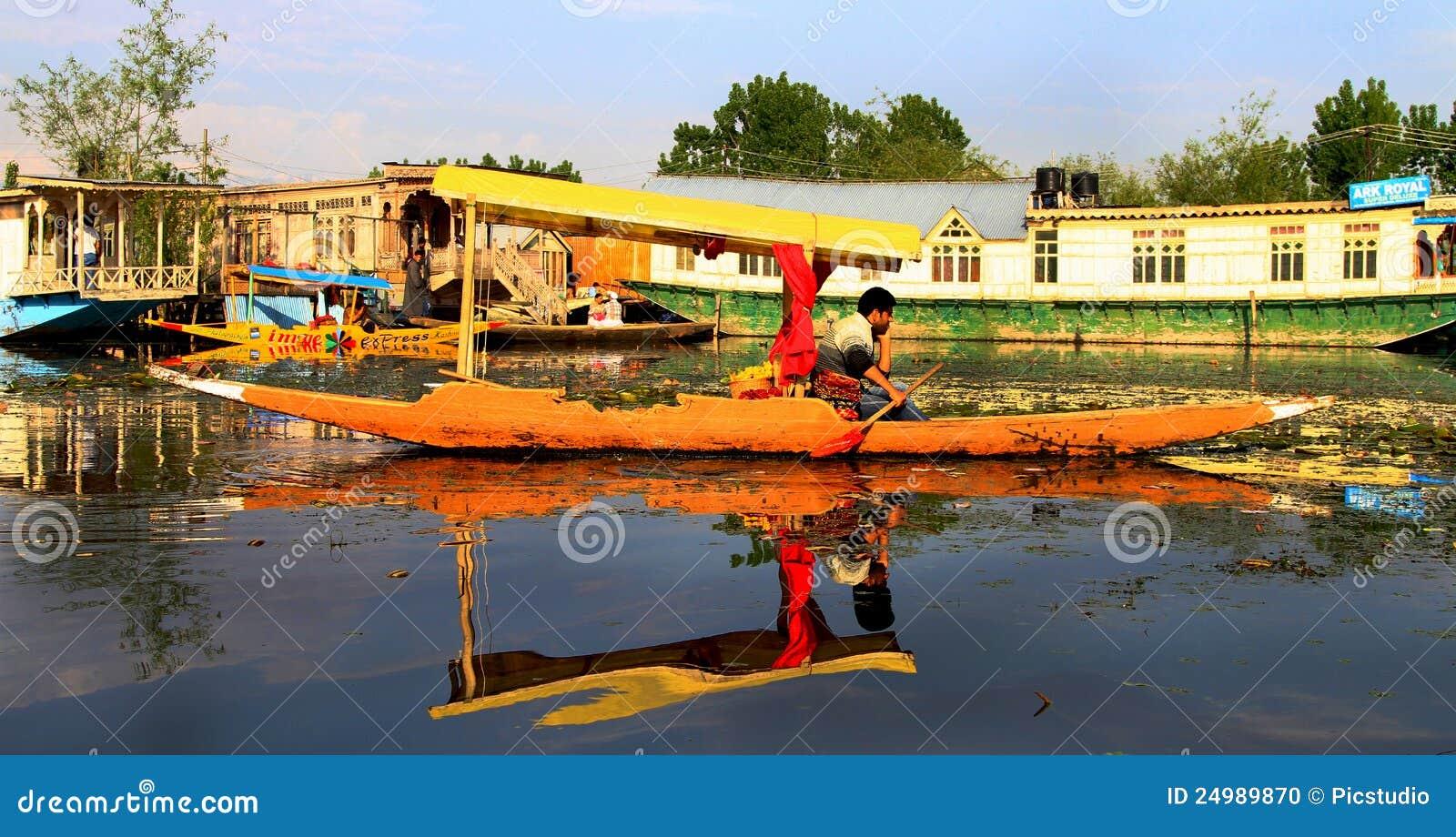 De boot van Shikara