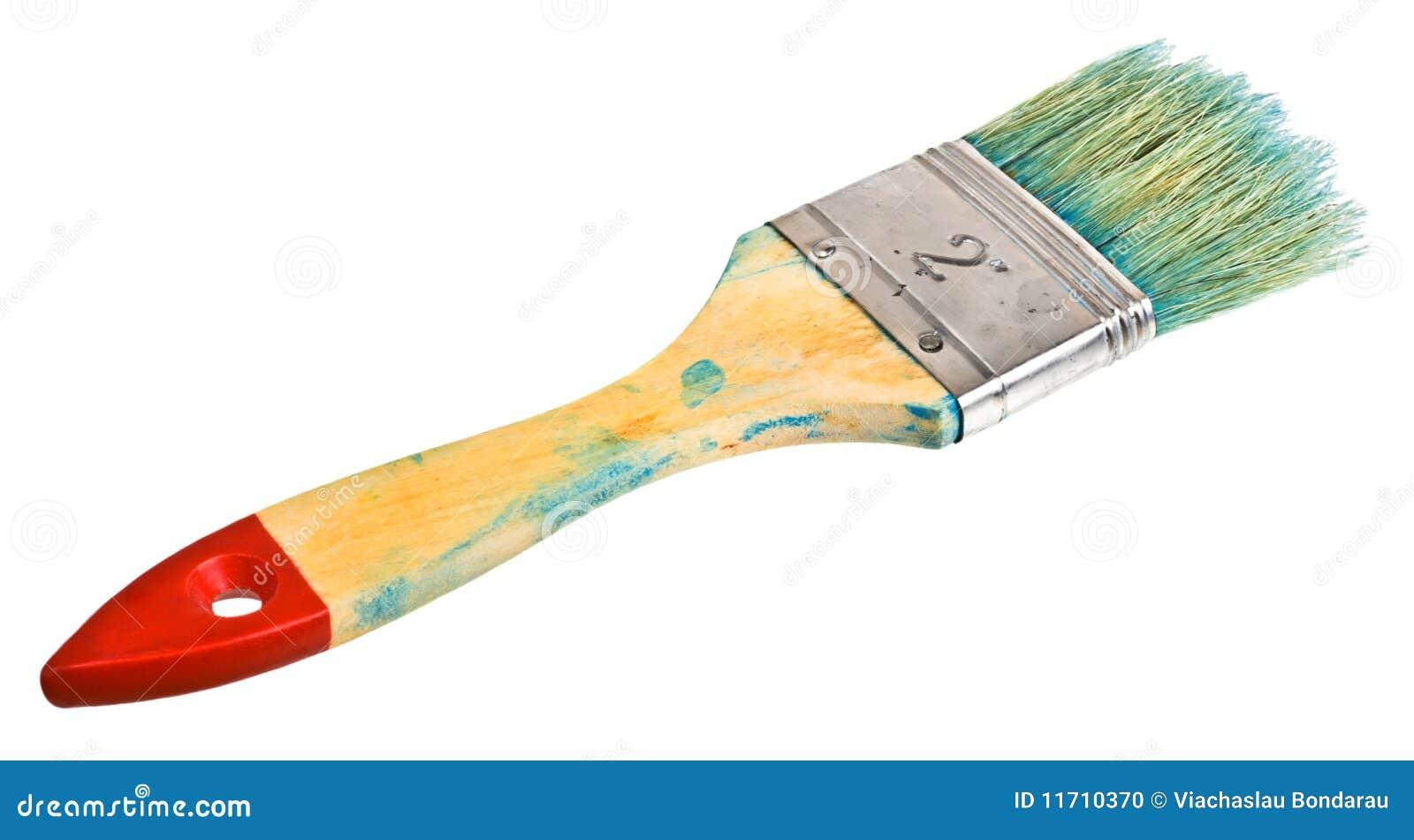 De borstel van de schilder