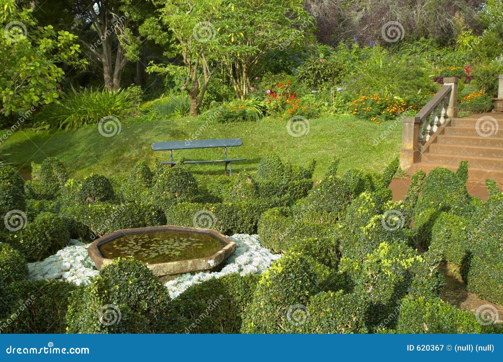 De botanische tuin