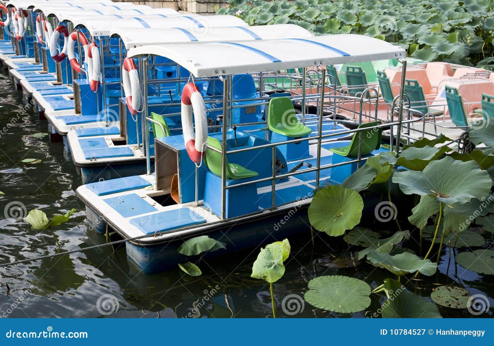 De boten van de passagier