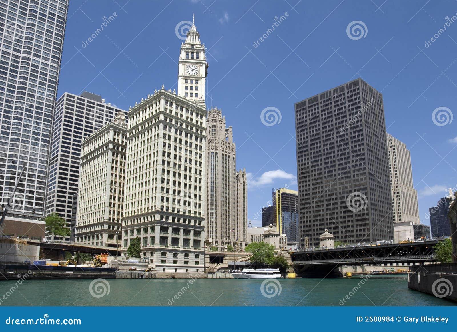 De Bouw van Chicago Wrigley