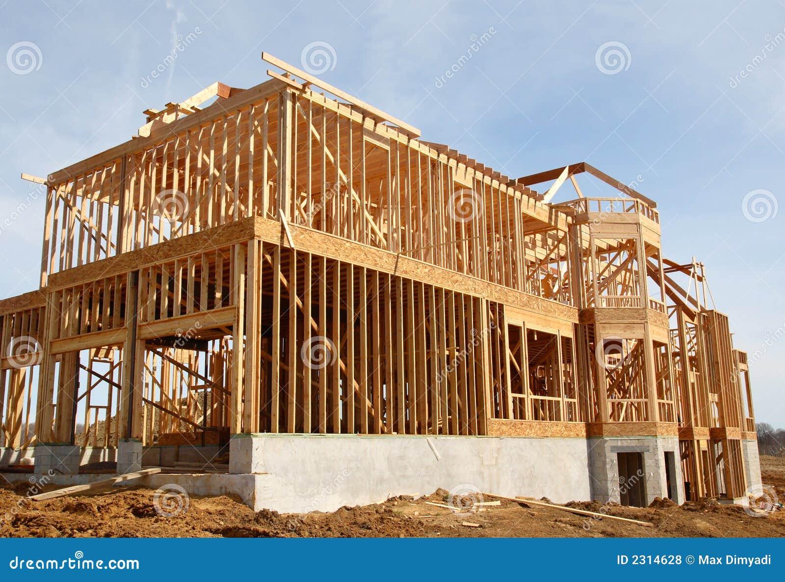De bouw van de garage van de auto van het huis royalty vrije stock foto 39 s afbeelding 2314628 for De ingang van het huis
