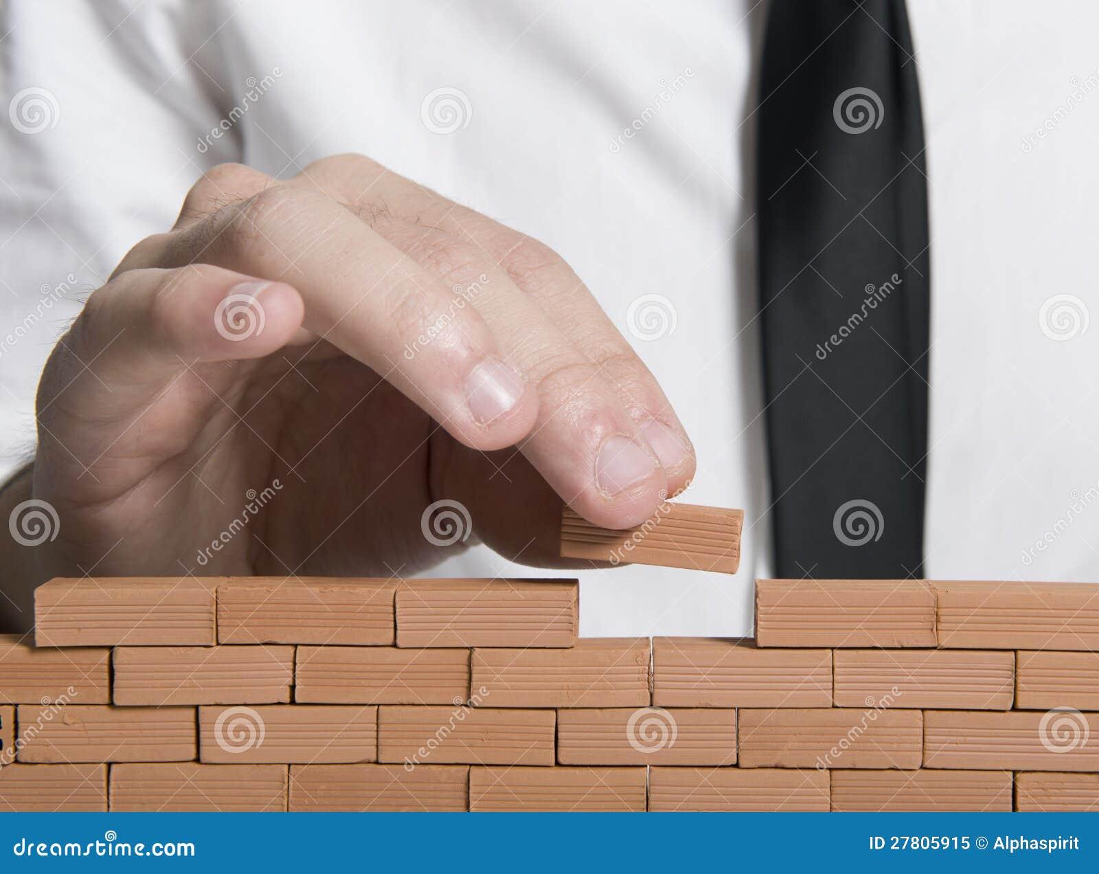 De bouw van een bedrijf