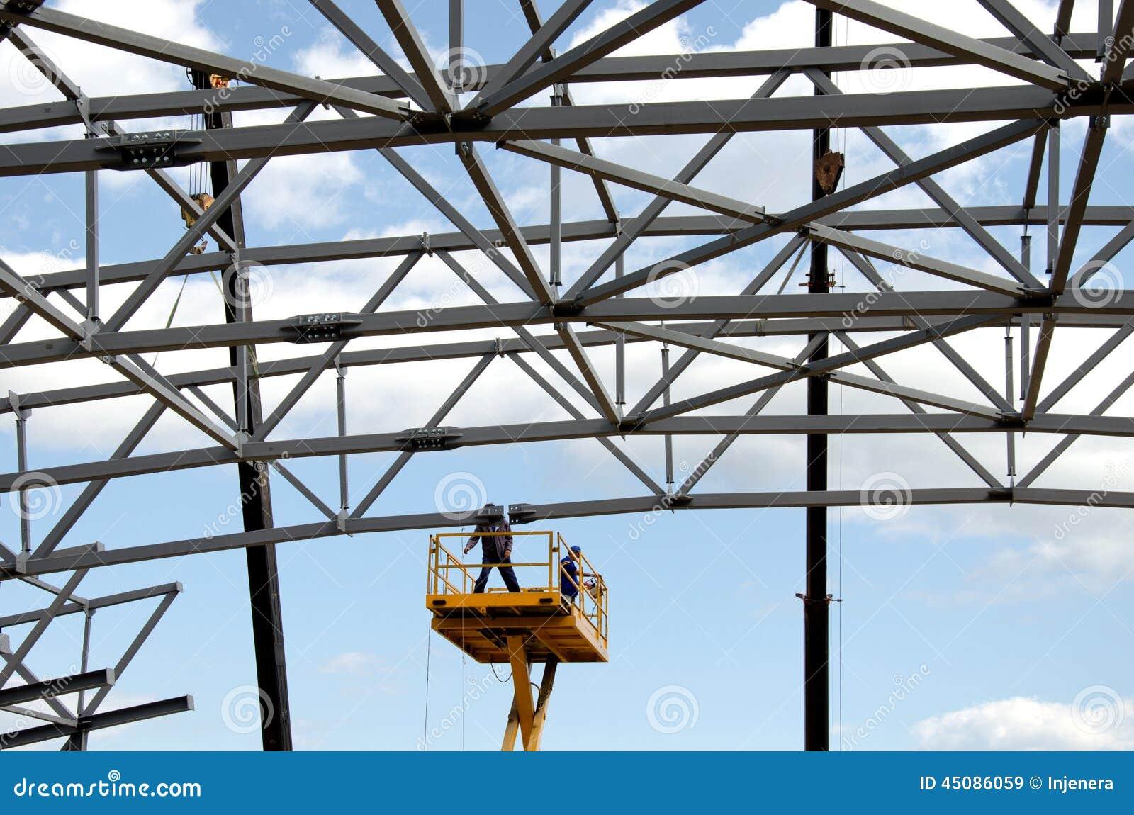 De bouw van het metaal