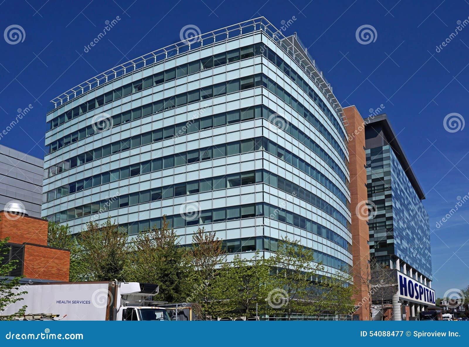 De bouw van het ziekenhuis