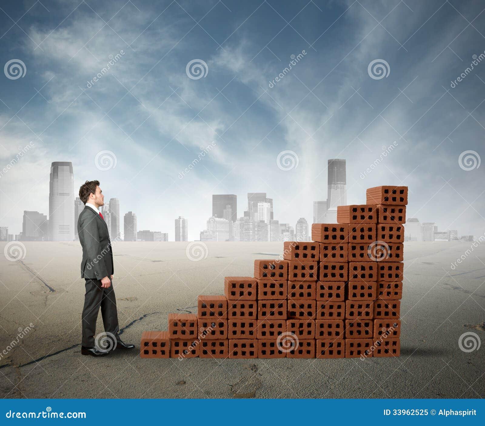De bouw van zaken