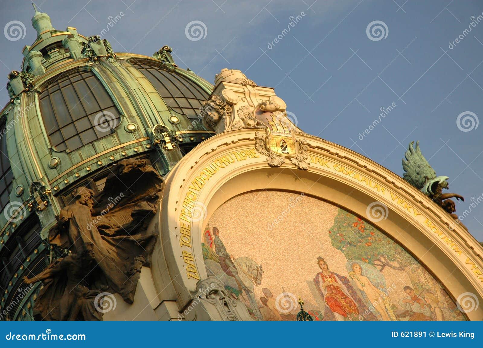 De bouwdak van de Jugendstil, Praag