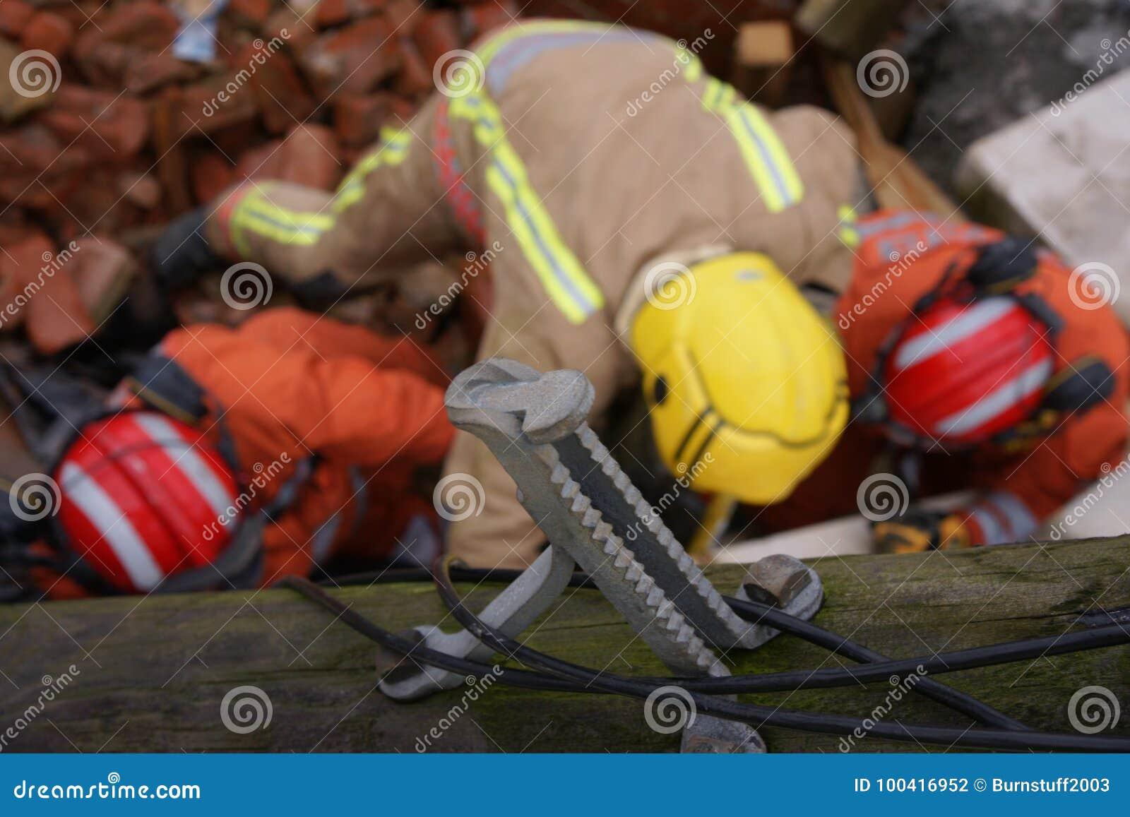 De bouwinstorting, rampenstreek