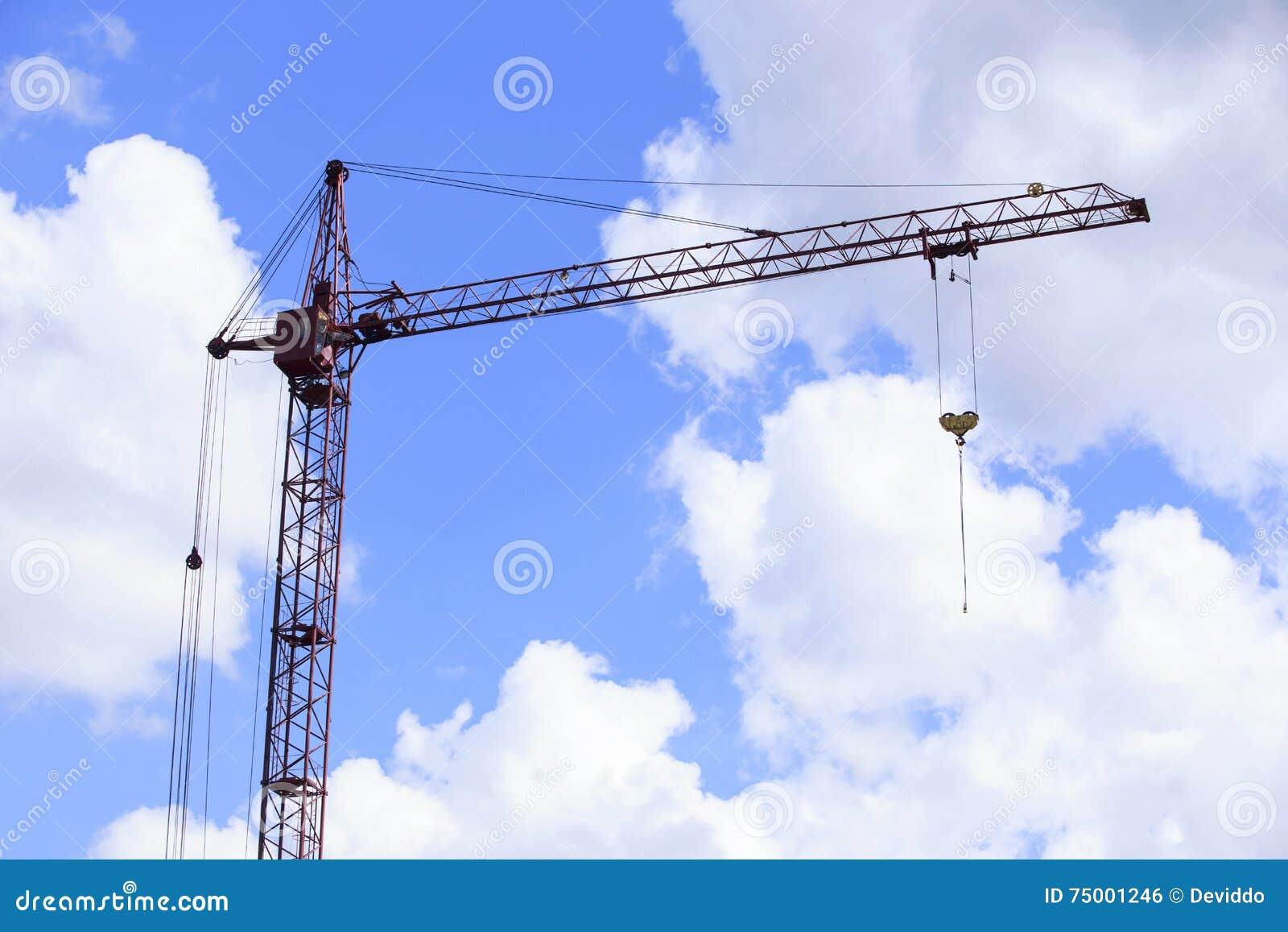 De bouwkraan