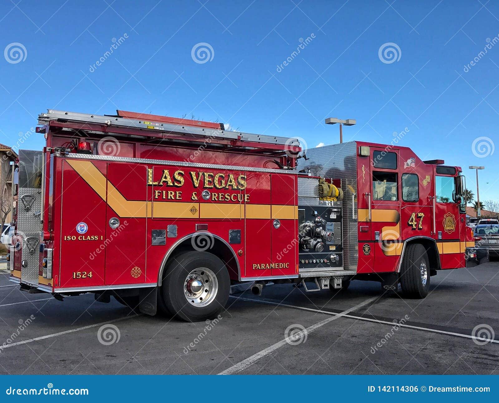 De Brand en de redding van Las Vegas