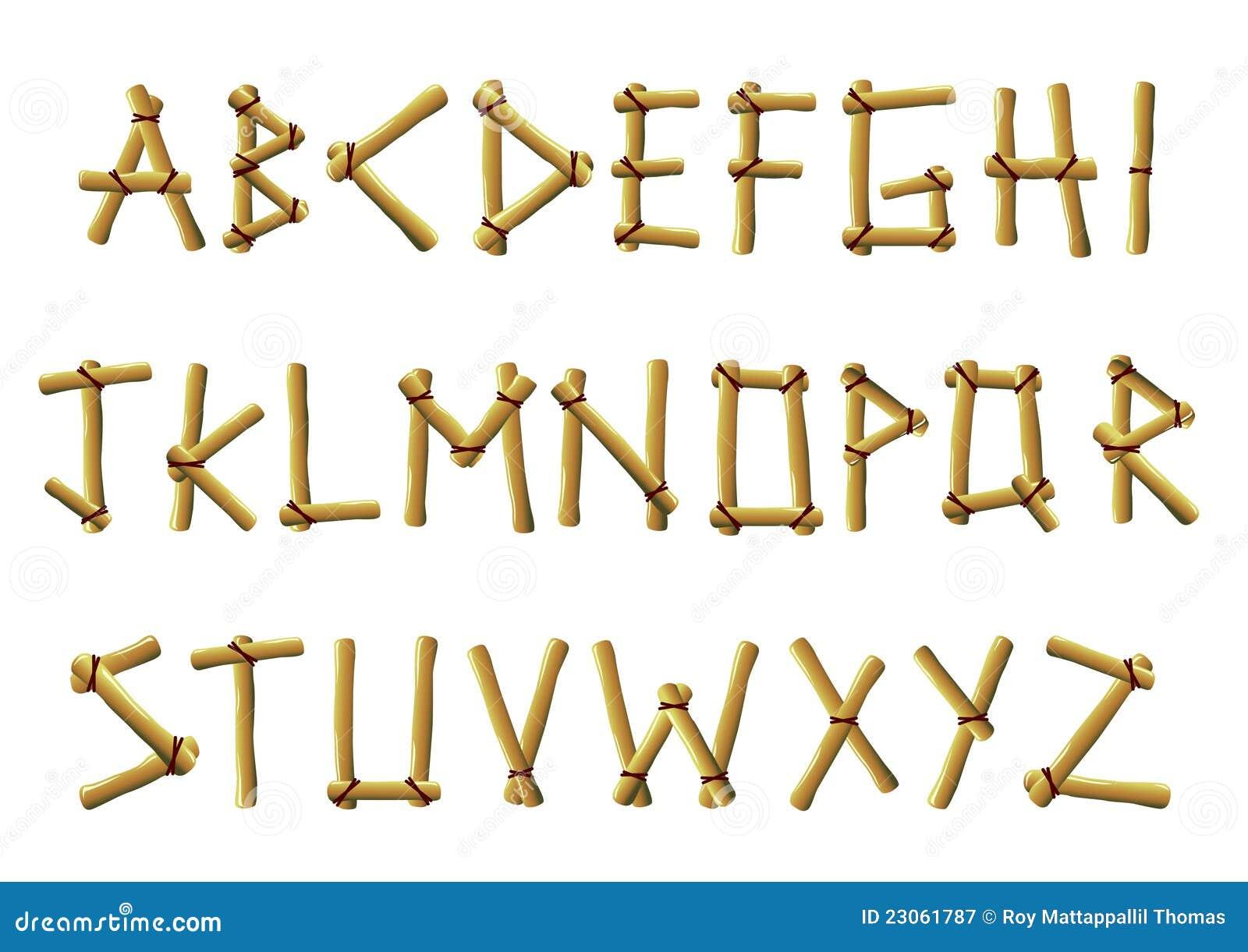 De brieven van het bamboe