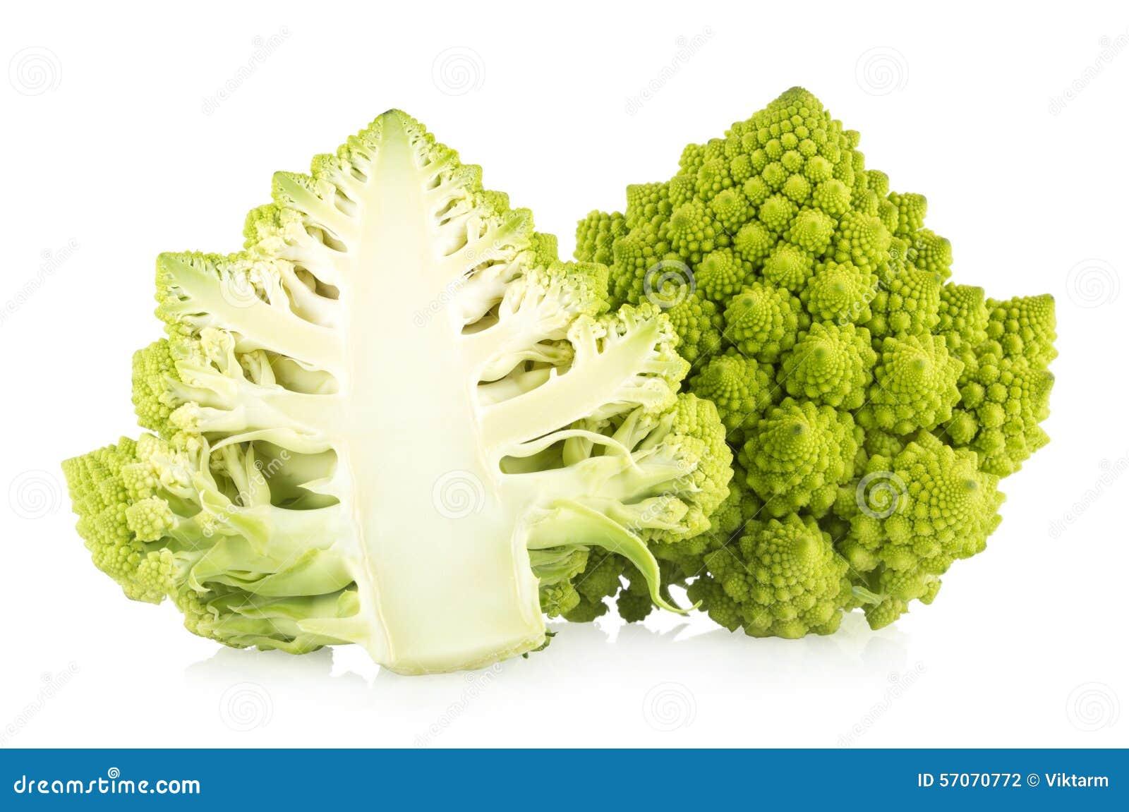 De broccoli van Romanesco
