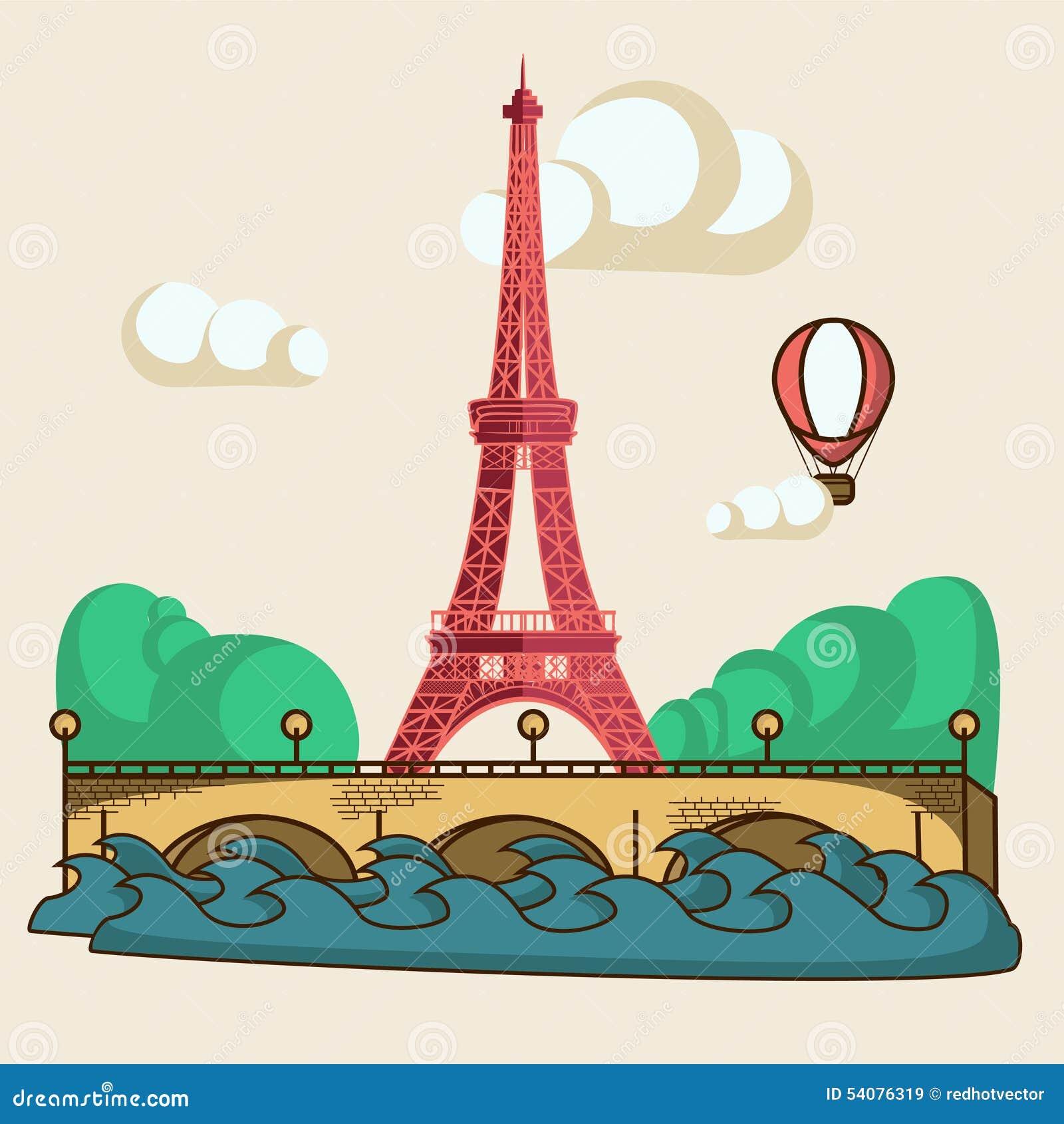 De brochure van Parijs
