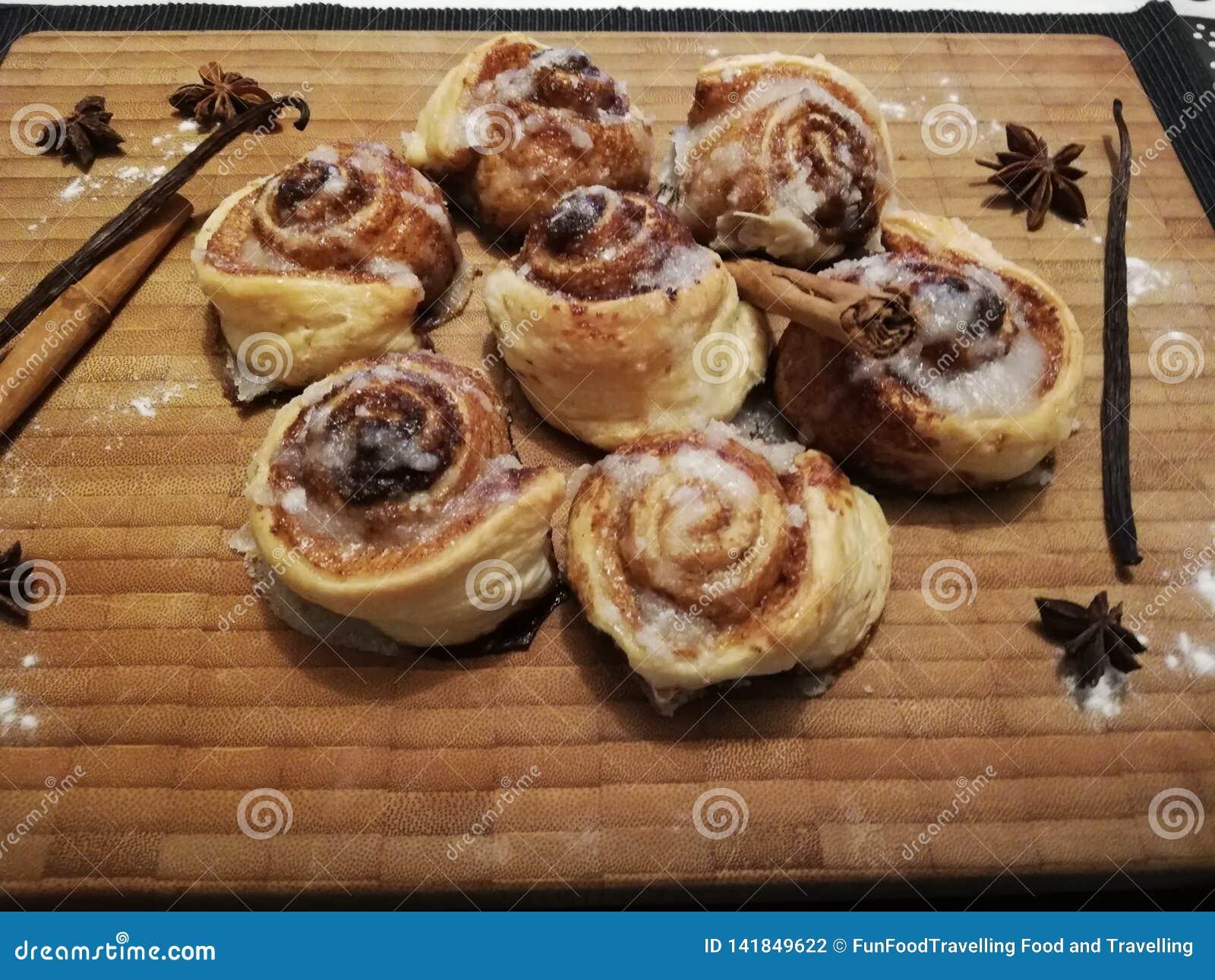 De Broodjes van de kaneel