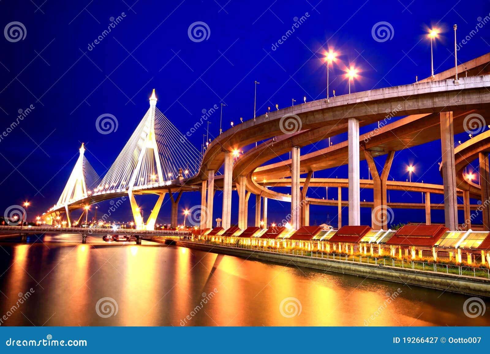 De brug stock afbeelding afbeelding bestaande uit koning 19266427 - Oostelijk licht ...
