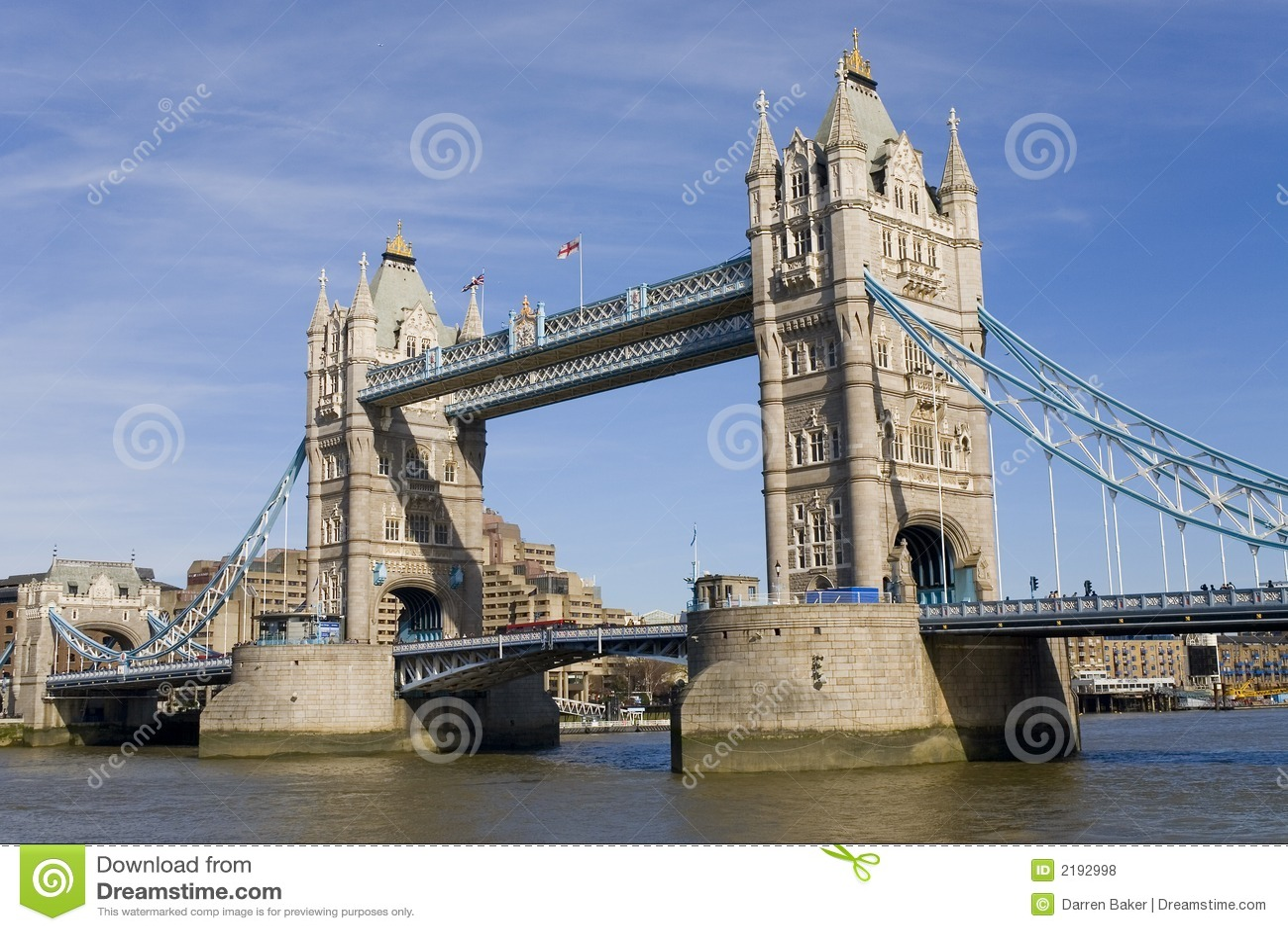 De Brug Londen Engeland Van De Toren Stock Foto ...