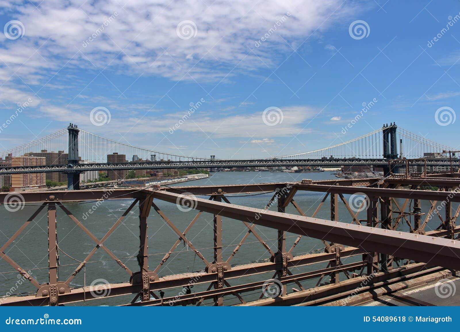 De brug van Brooklyn, New York