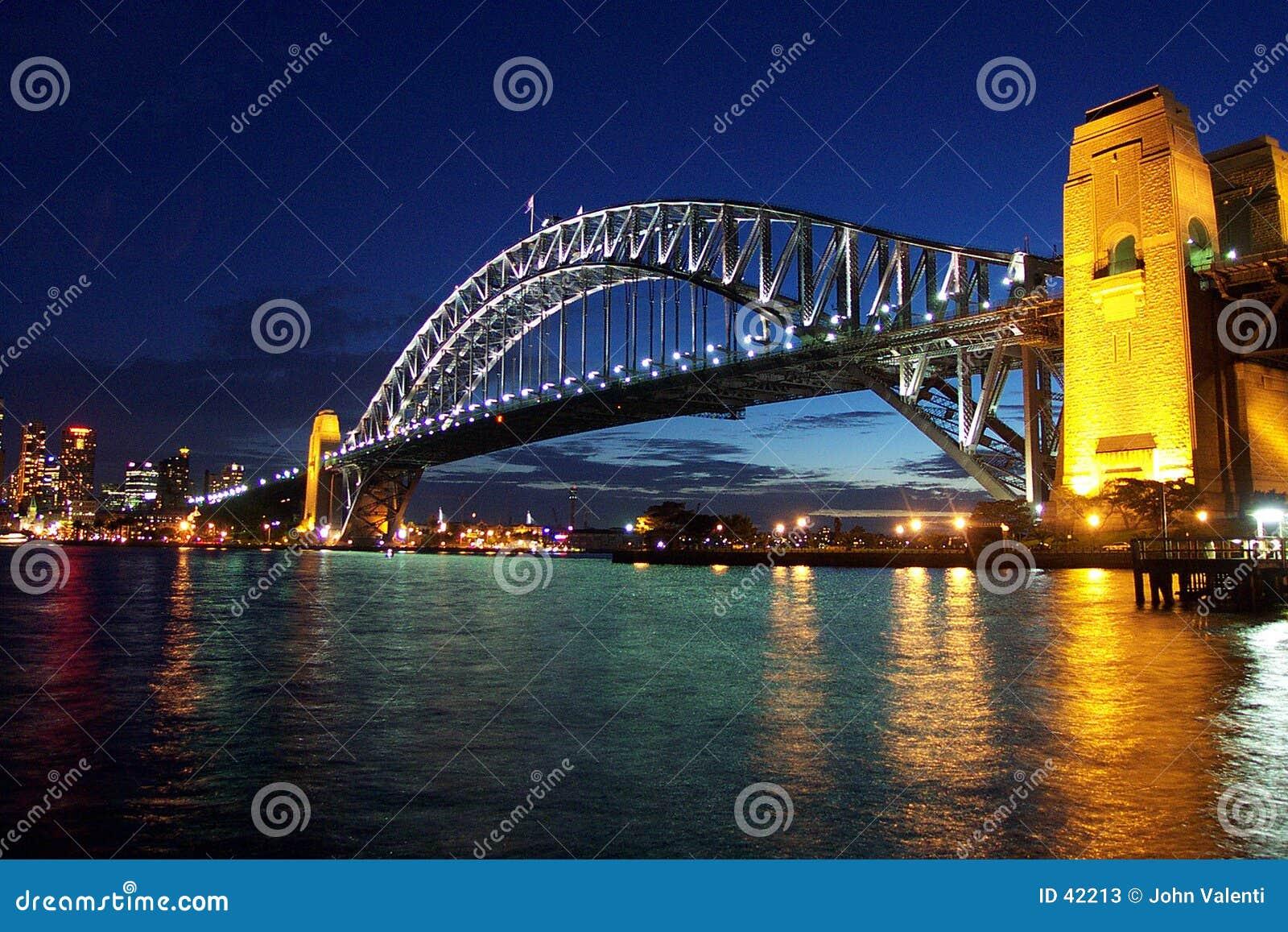 Download De Brug Van De Haven Van Sydney Stock Afbeelding - Afbeelding bestaande uit stad, beroemd: 42213