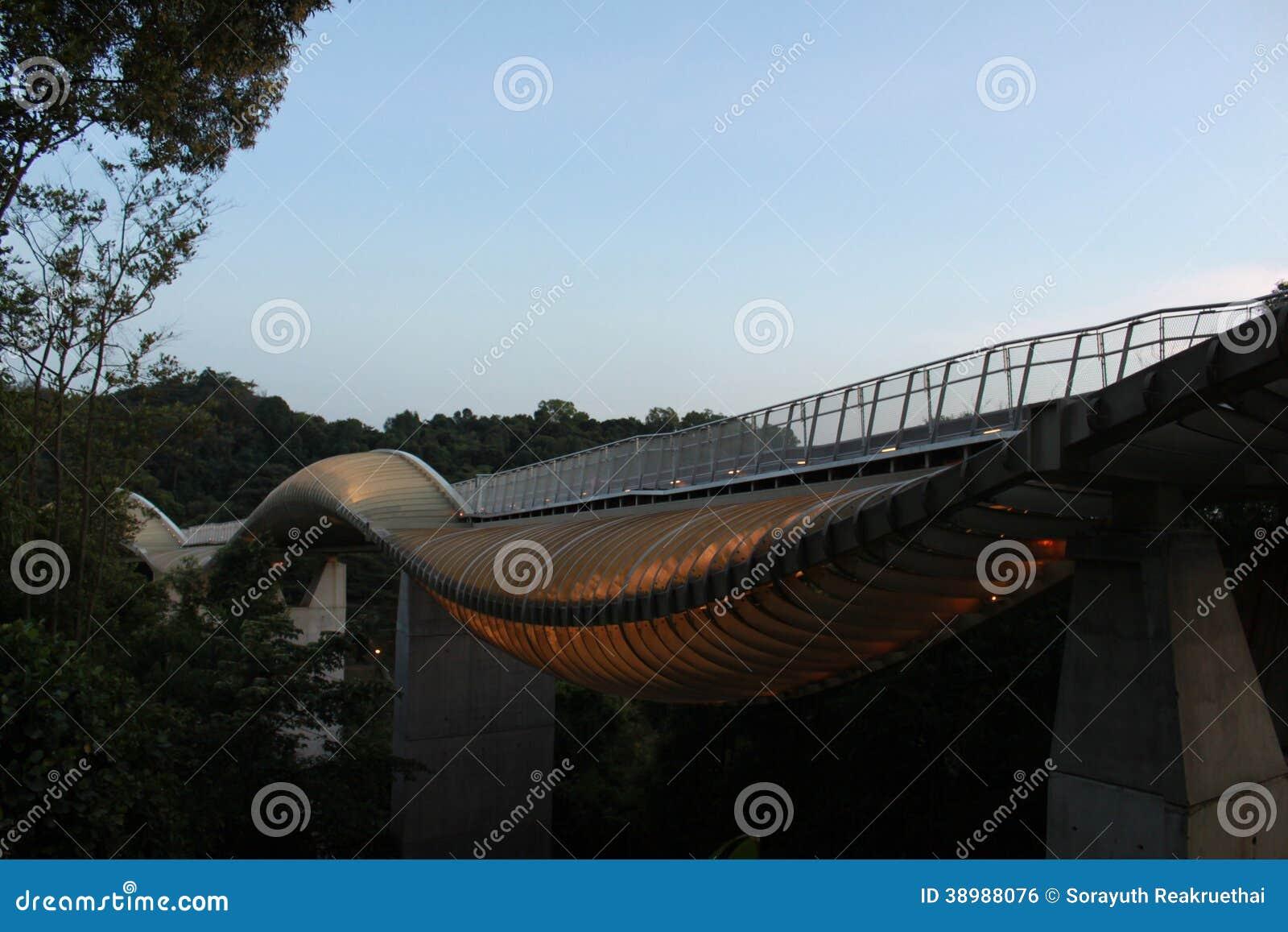 De brug van de Hendersongolf