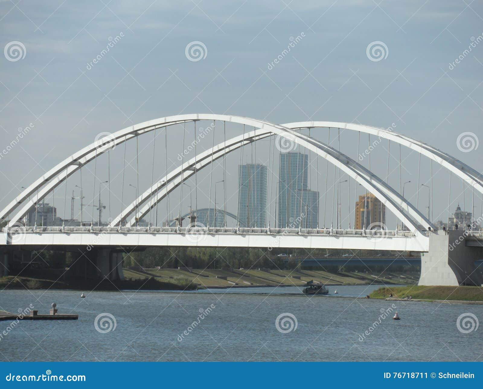 De brug van de stad