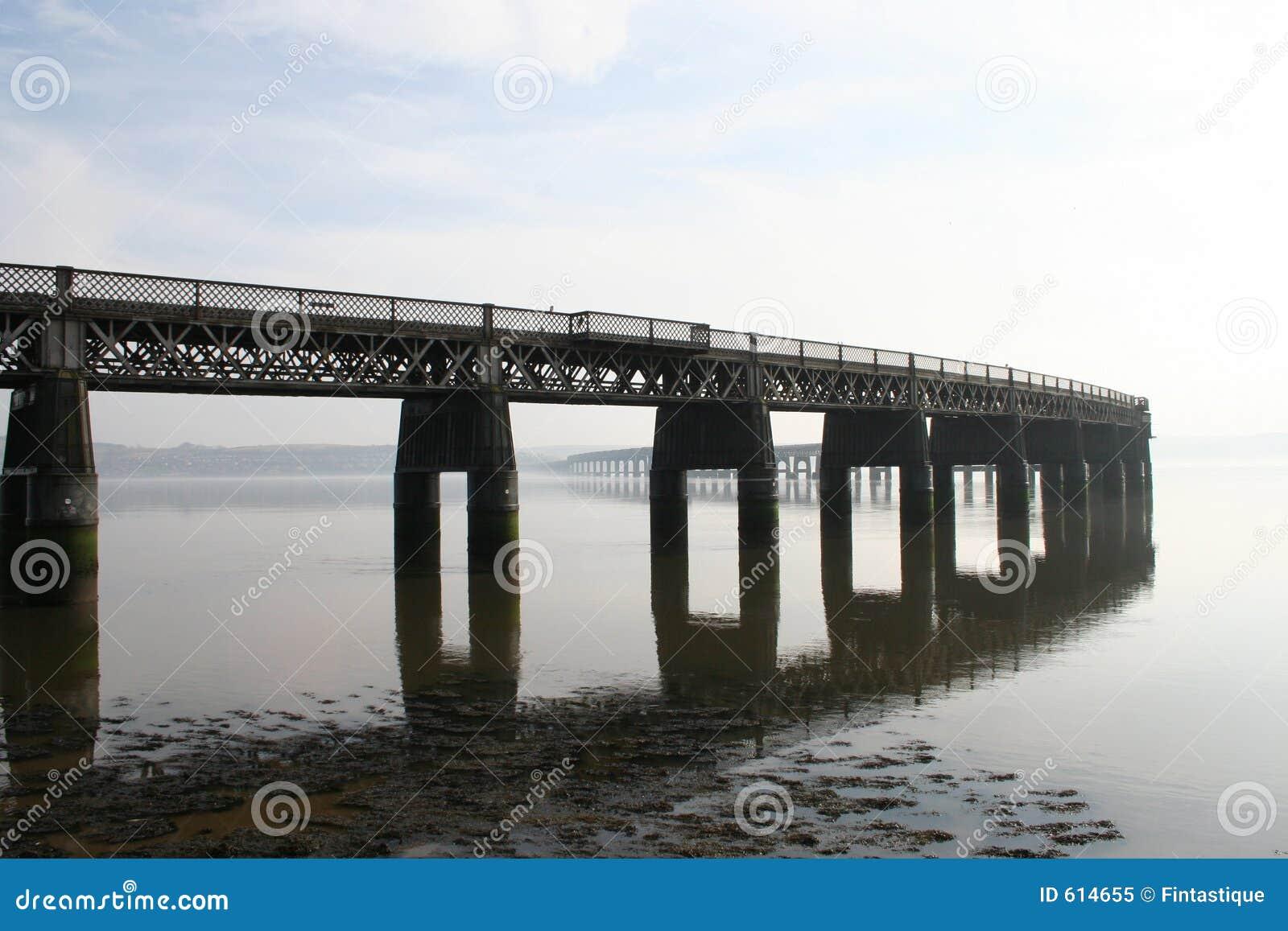 De Brug van het Spoor van Tay, Dundee