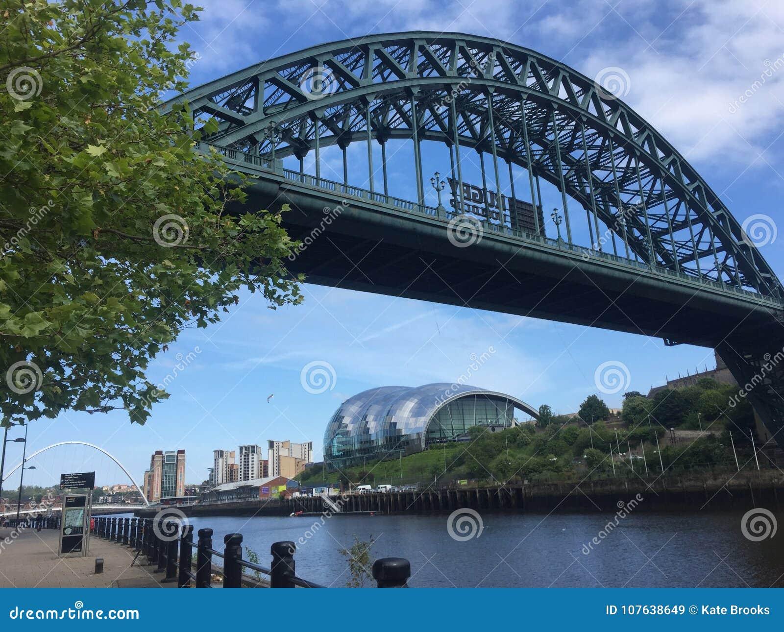 De Brug van de Tyne en Wijze Gateshead