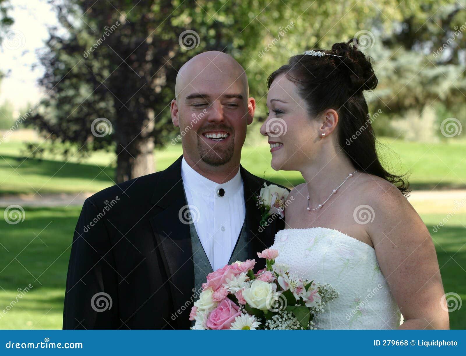 De Bruid en de Bruidegom van het huwelijk