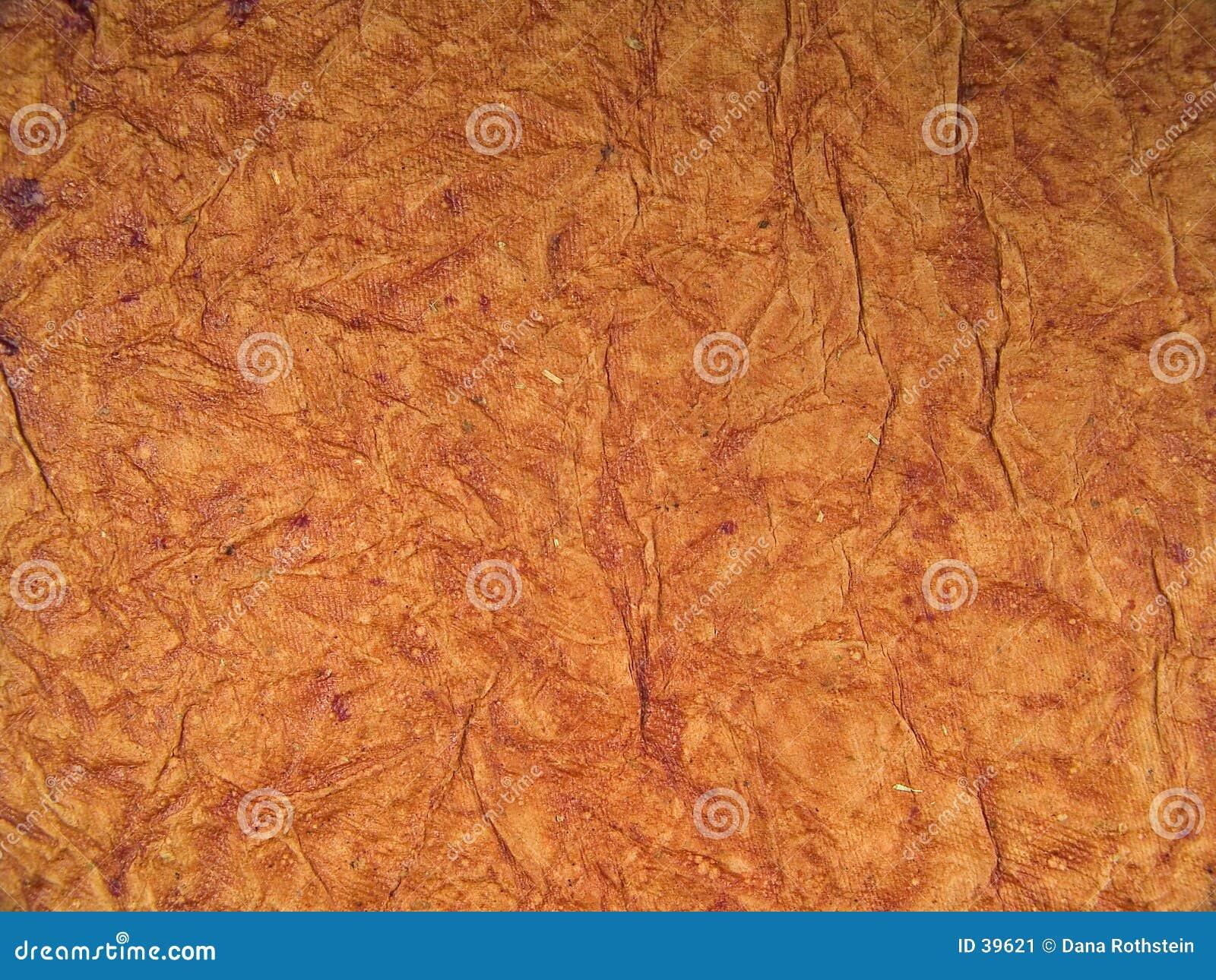 De bruine Textuur van de Gipspleister