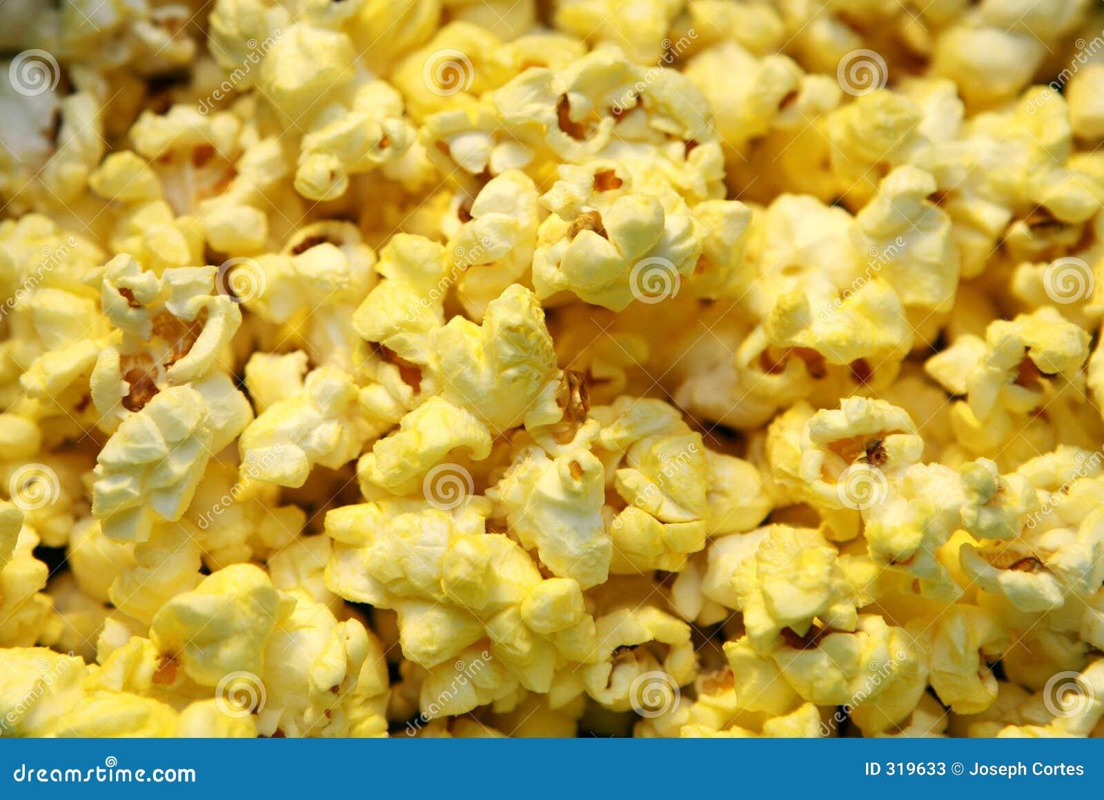 De bruit de maïs fin vers le haut
